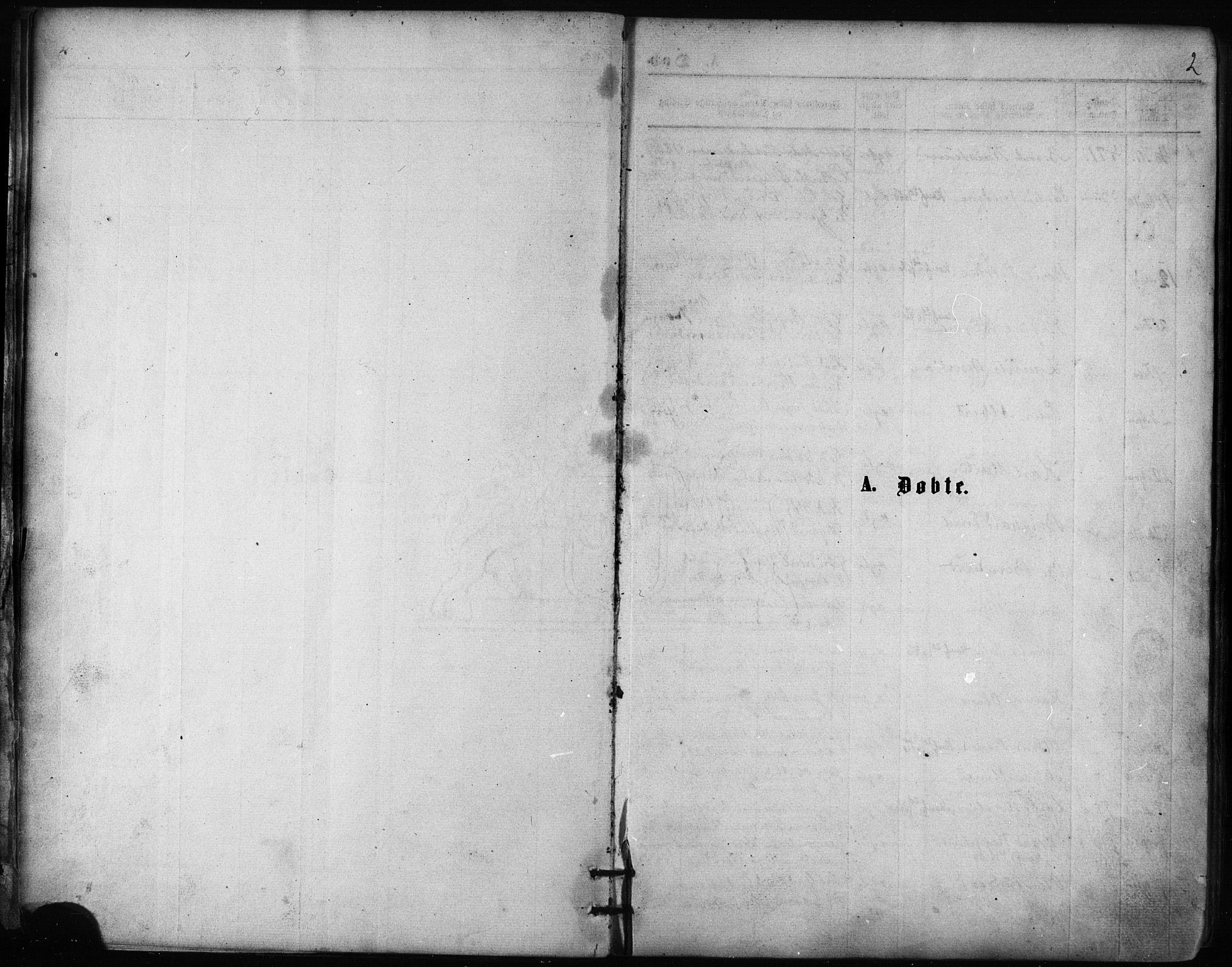 SATØ, Balsfjord sokneprestembete, Ministerialbok nr. 2, 1871-1886, s. 2