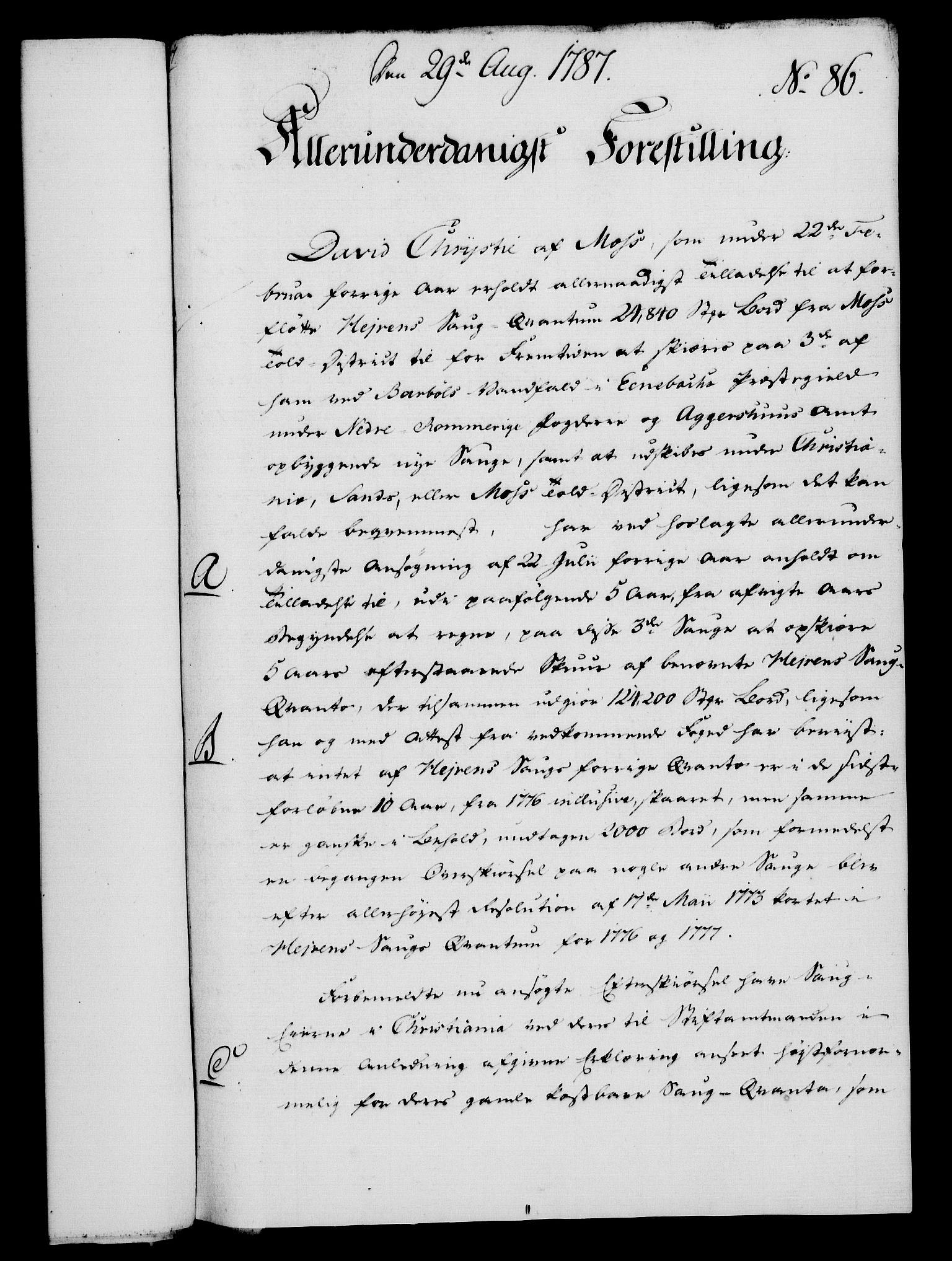 RA, Rentekammeret, Kammerkanselliet, G/Gf/Gfa/L0069: Norsk relasjons- og resolusjonsprotokoll (merket RK 52.69), 1787, s. 946