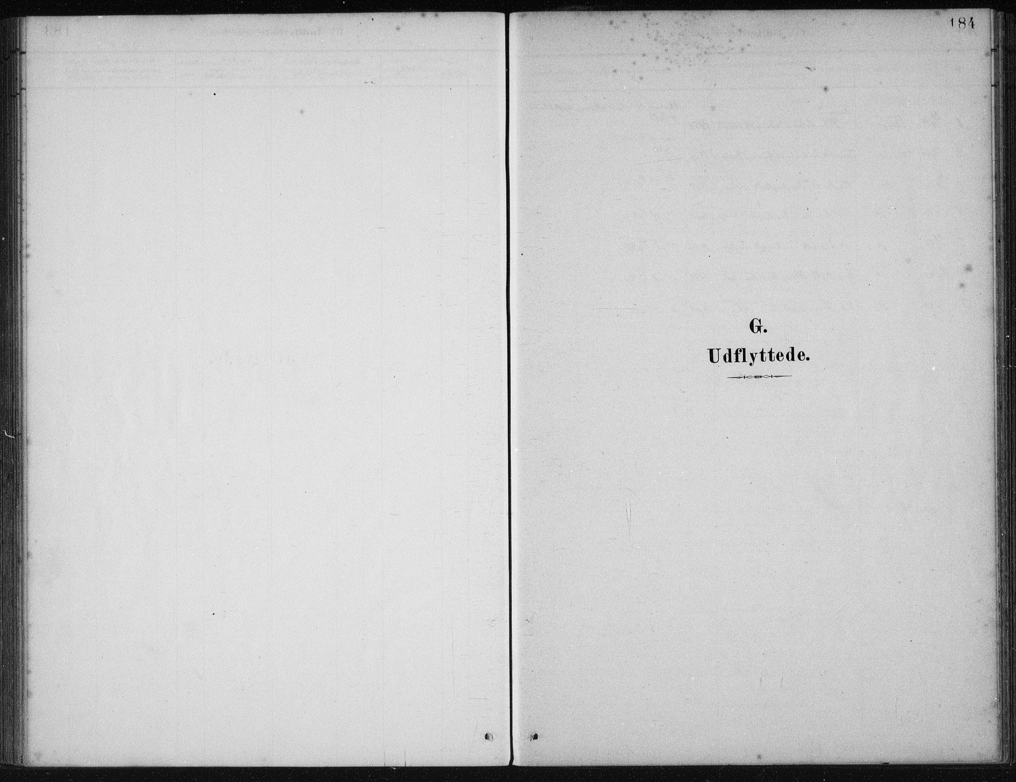 SAB, Fjelberg Sokneprestembete, H/Haa: Ministerialbok nr. B  1, 1879-1919, s. 184