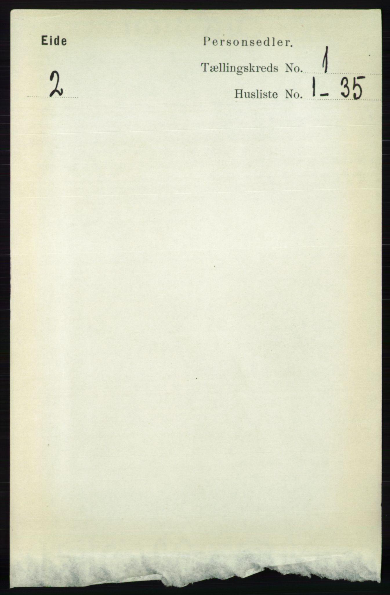 RA, Folketelling 1891 for 0925 Eide herred, 1891, s. 51