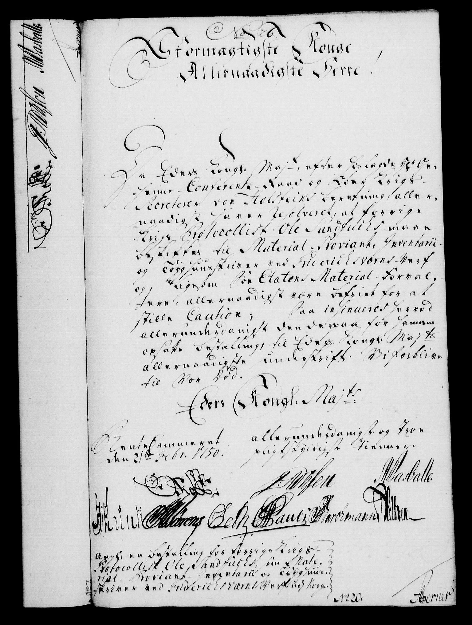RA, Rentekammeret, Kammerkanselliet, G/Gf/Gfa/L0032: Norsk relasjons- og resolusjonsprotokoll (merket RK 52.32), 1750, s. 123