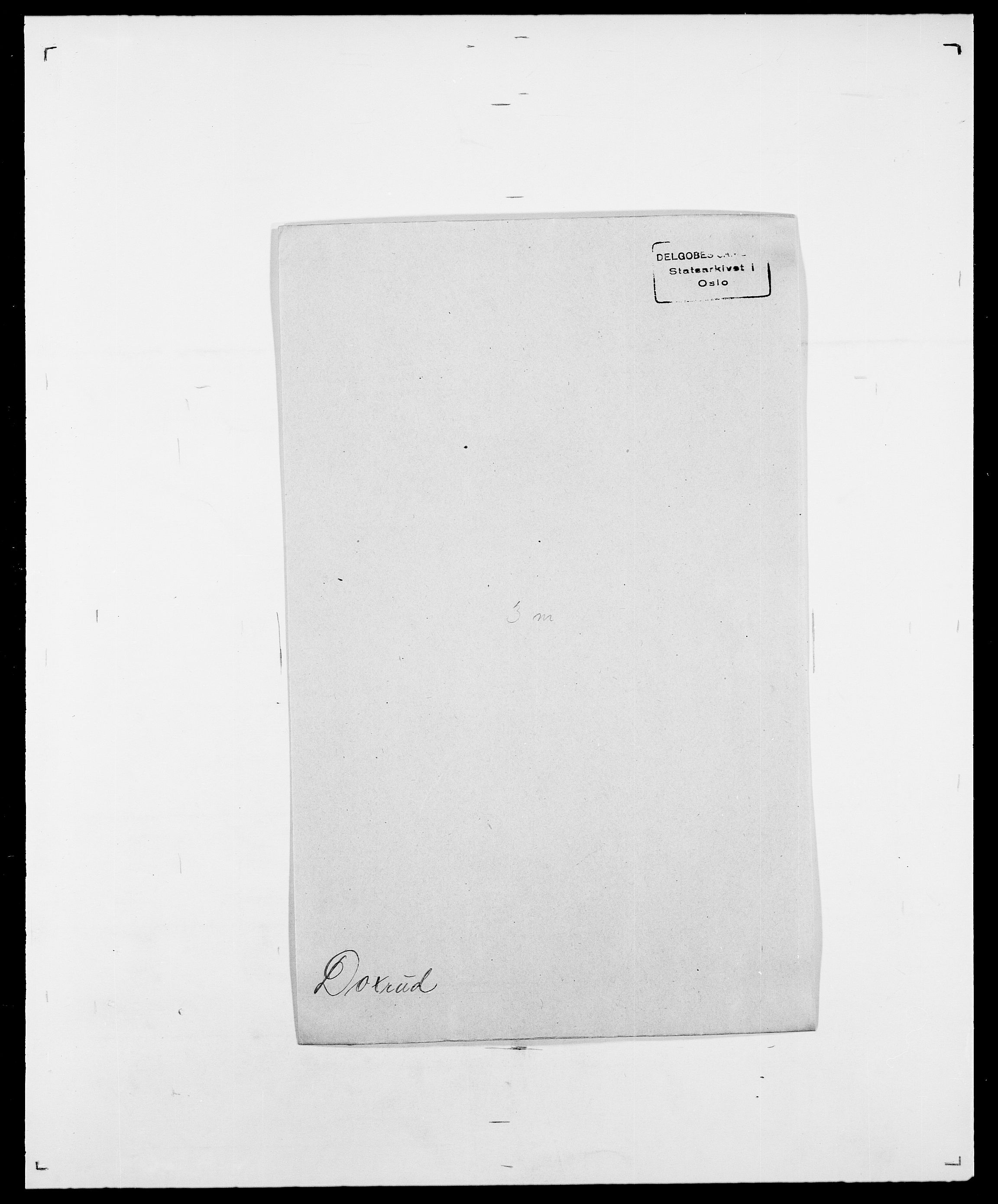 SAO, Delgobe, Charles Antoine - samling, D/Da/L0009: Dahl - v. Düren, s. 709