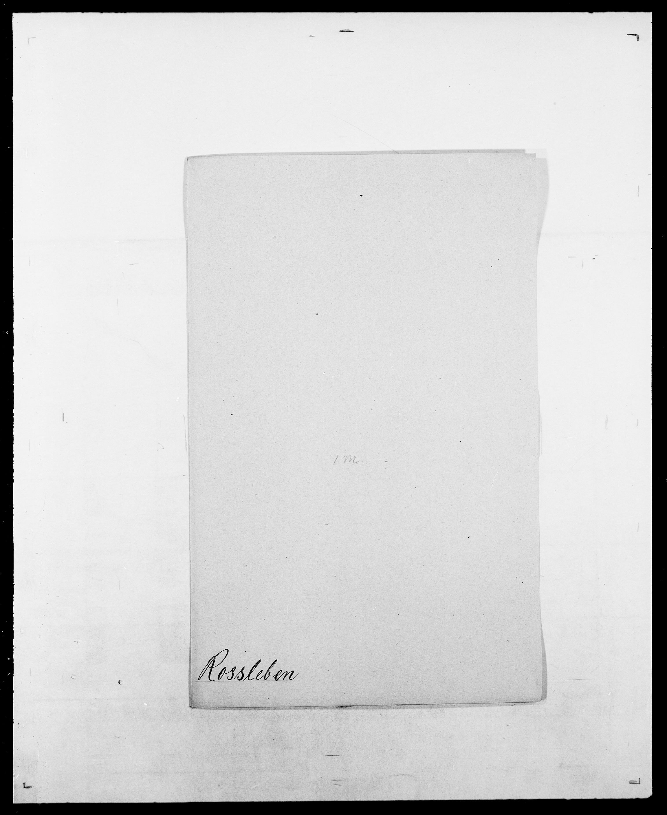 SAO, Delgobe, Charles Antoine - samling, D/Da/L0033: Roald - Røyem, s. 351