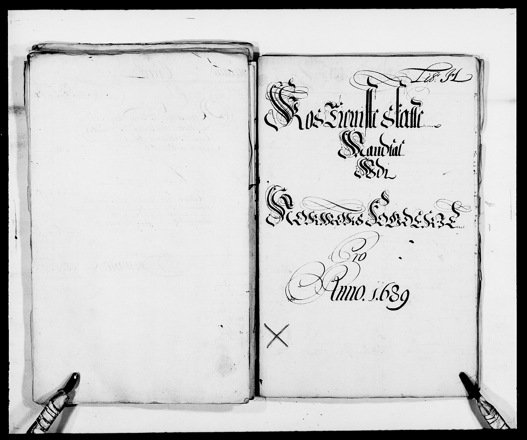 RA, Rentekammeret inntil 1814, Reviderte regnskaper, Fogderegnskap, R56/L3733: Fogderegnskap Nordmøre, 1687-1689, s. 394