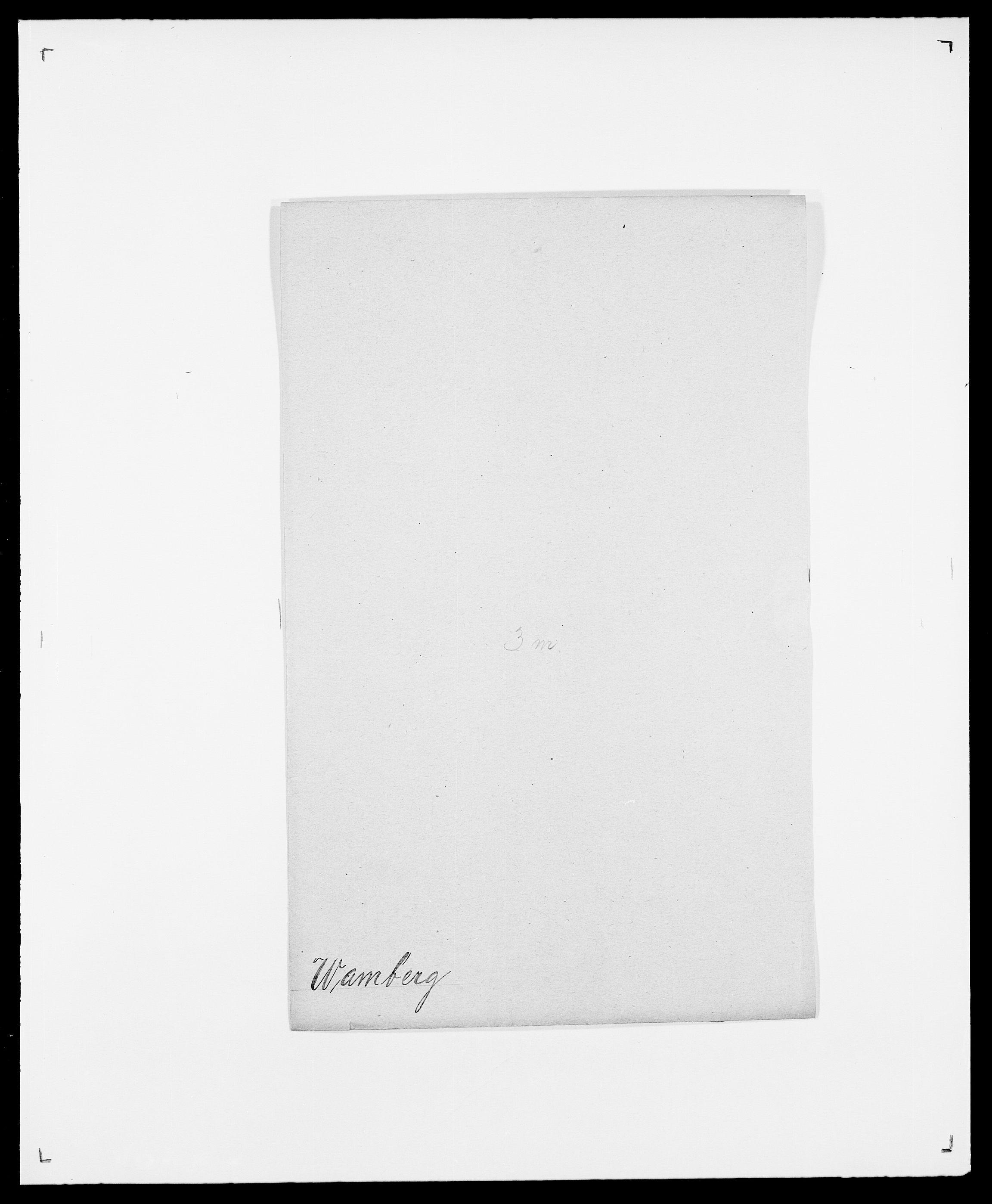 SAO, Delgobe, Charles Antoine - samling, D/Da/L0040: Usgaard - Velund, s. 264
