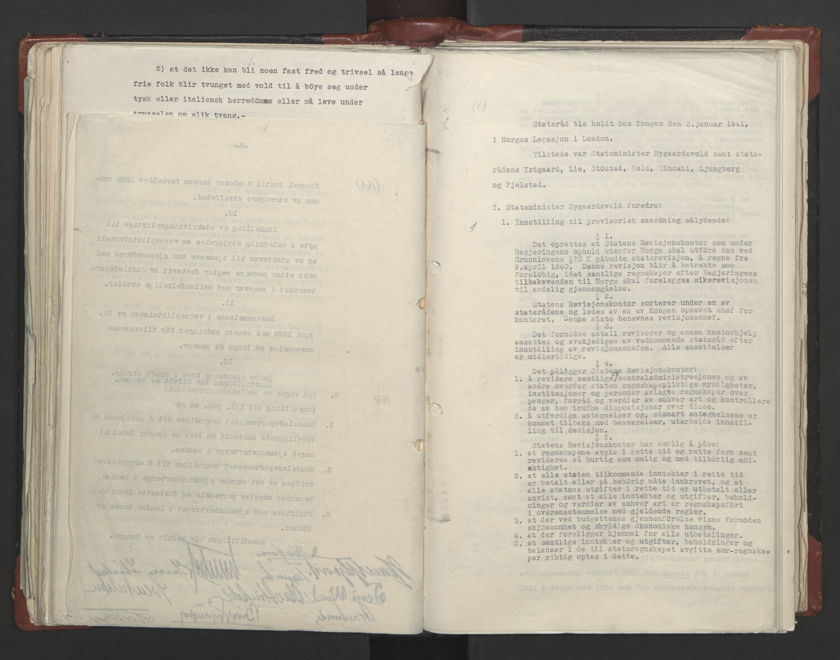 RA, Statsrådssekretariatet, A/Ac/L0122: Kgl. res. (9/4) 17/4 1940 -18/12 1942, 1940-1942, s. upaginert
