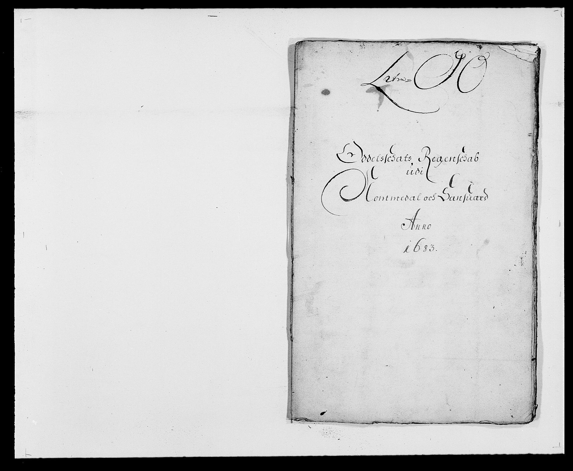 RA, Rentekammeret inntil 1814, Reviderte regnskaper, Fogderegnskap, R24/L1570: Fogderegnskap Numedal og Sandsvær, 1679-1686, s. 312