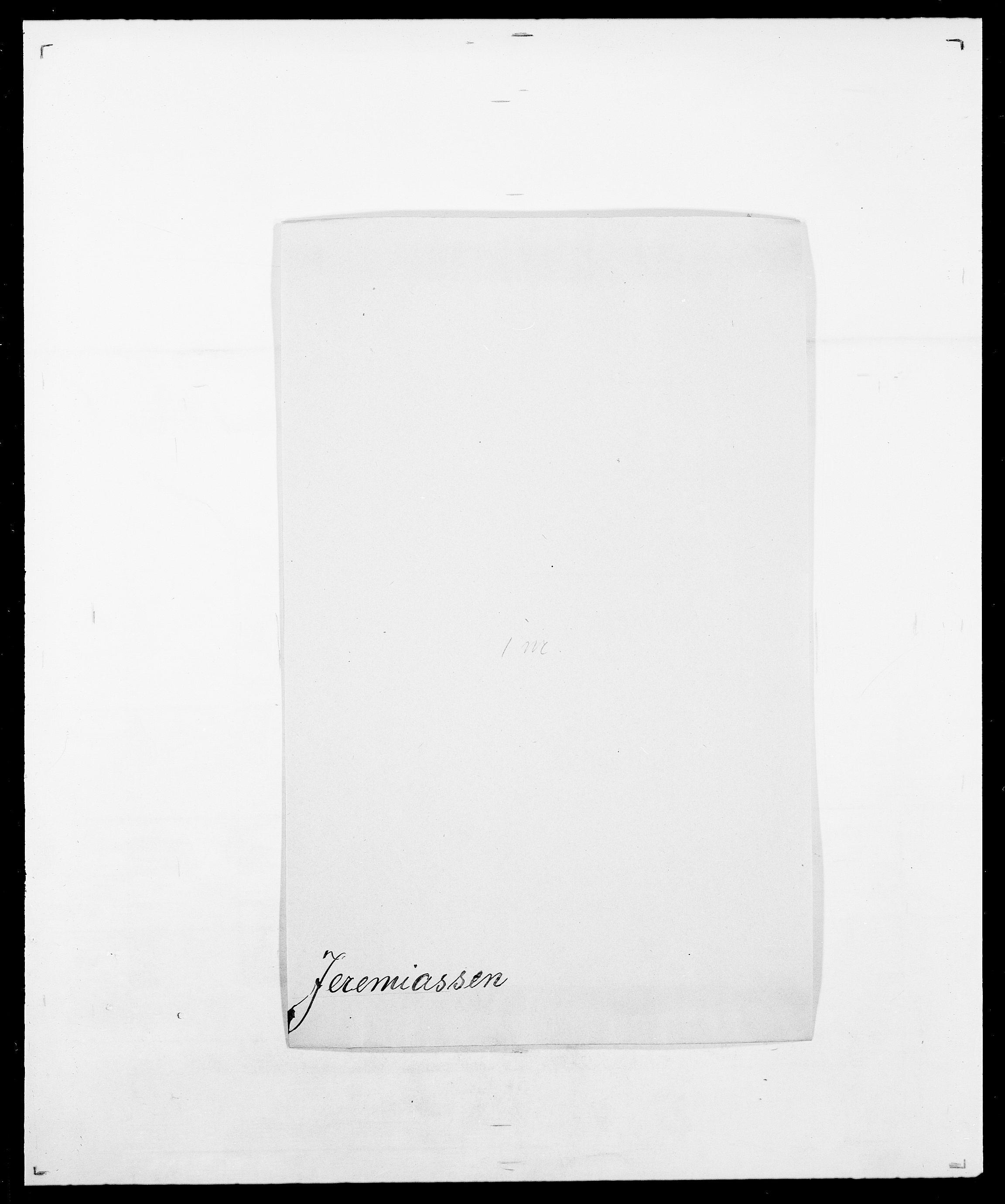 SAO, Delgobe, Charles Antoine - samling, D/Da/L0019: van der Hude - Joys, s. 698