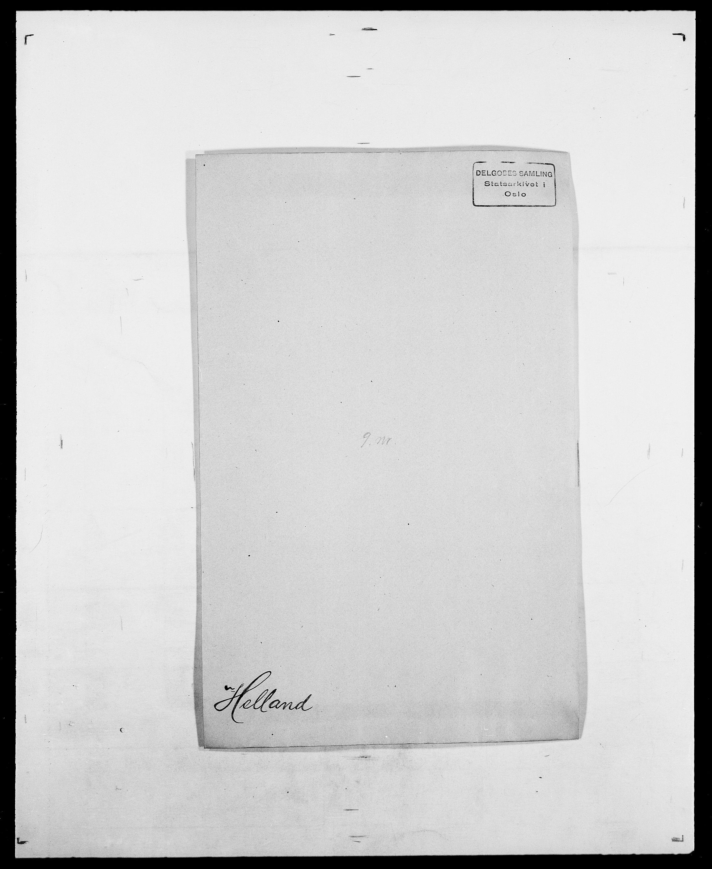 SAO, Delgobe, Charles Antoine - samling, D/Da/L0017: Helander - Hjørne, s. 28