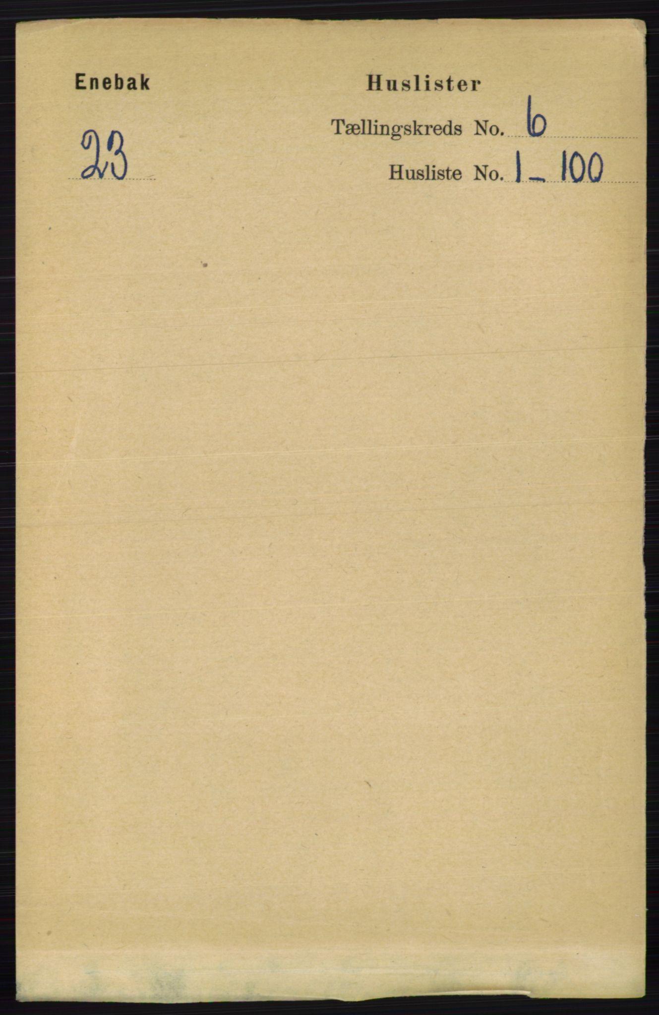 RA, Folketelling 1891 for 0229 Enebakk herred, 1891, s. 2793