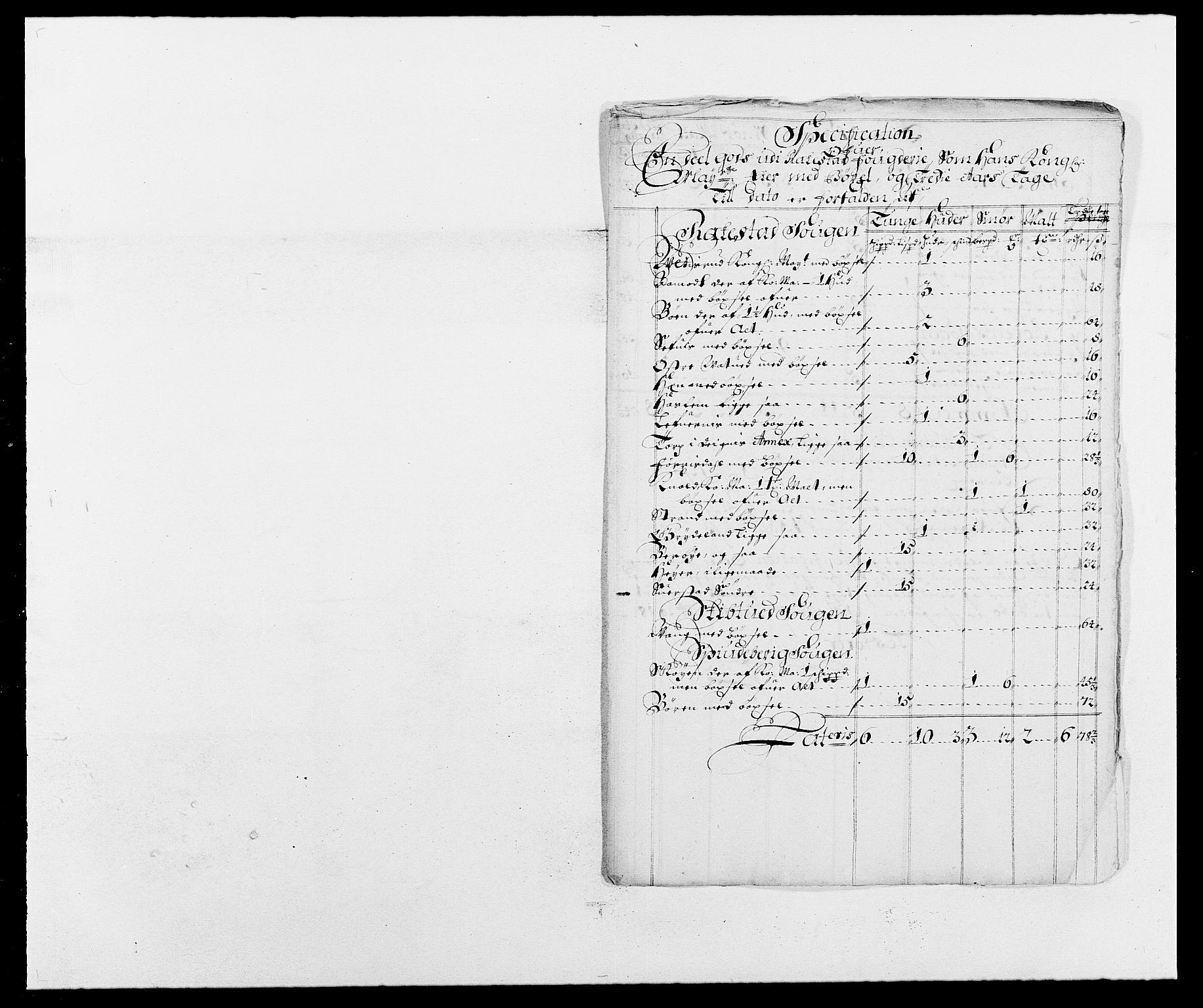 RA, Rentekammeret inntil 1814, Reviderte regnskaper, Fogderegnskap, R05/L0276: Fogderegnskap Rakkestad, 1683-1688, s. 136