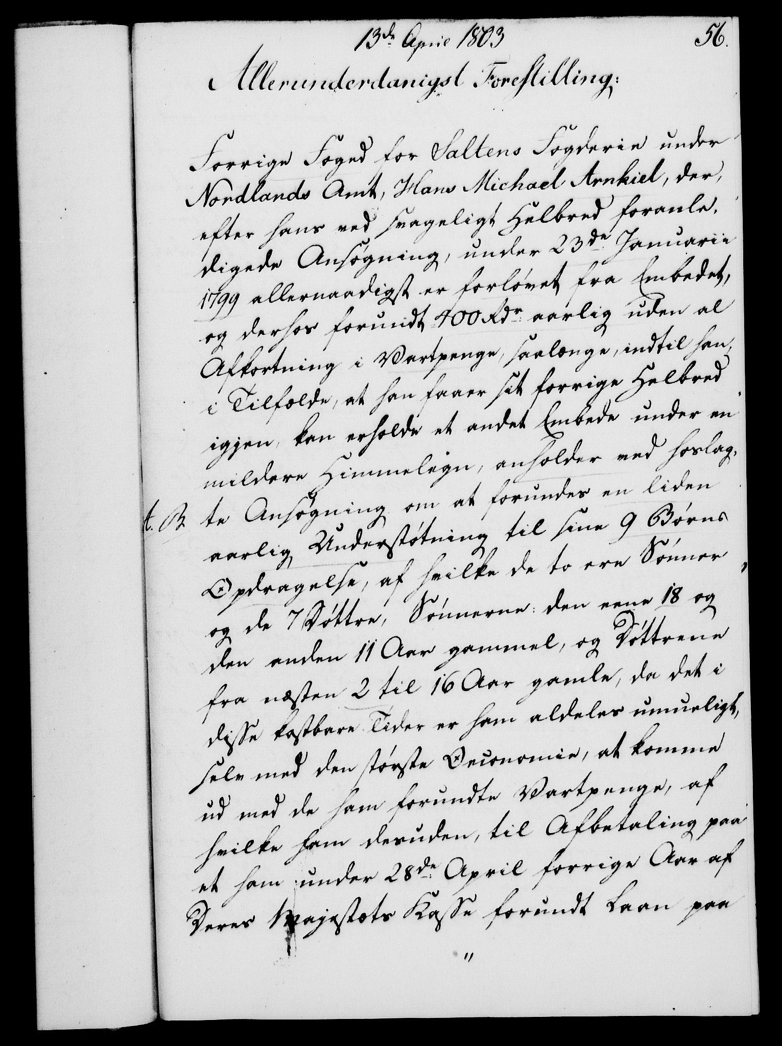 RA, Rentekammeret, Kammerkanselliet, G/Gf/Gfa/L0085: Norsk relasjons- og resolusjonsprotokoll (merket RK 52.85), 1803, s. 363