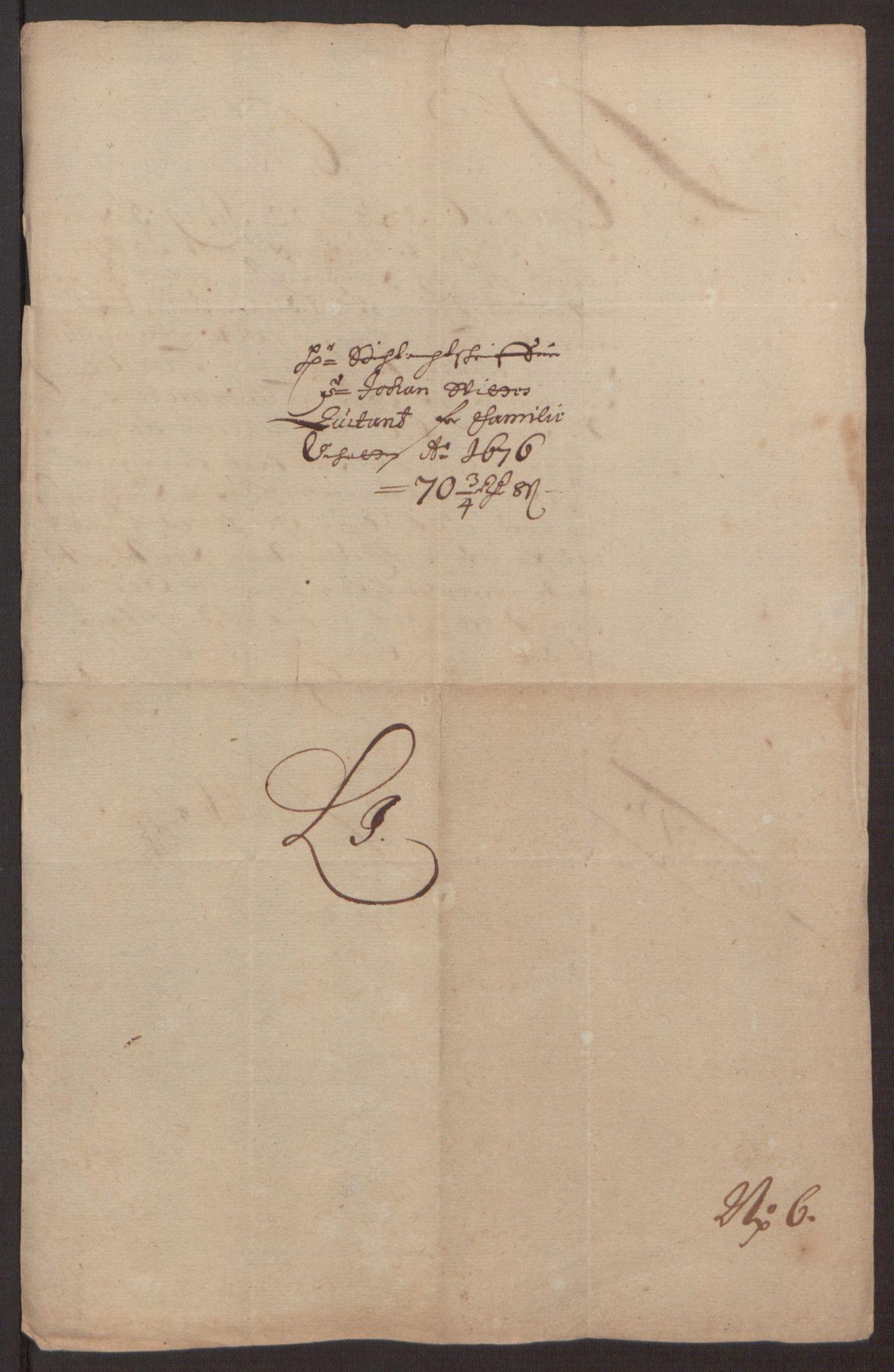 RA, Rentekammeret inntil 1814, Reviderte regnskaper, Fogderegnskap, R35/L2065: Fogderegnskap Øvre og Nedre Telemark, 1676, s. 255