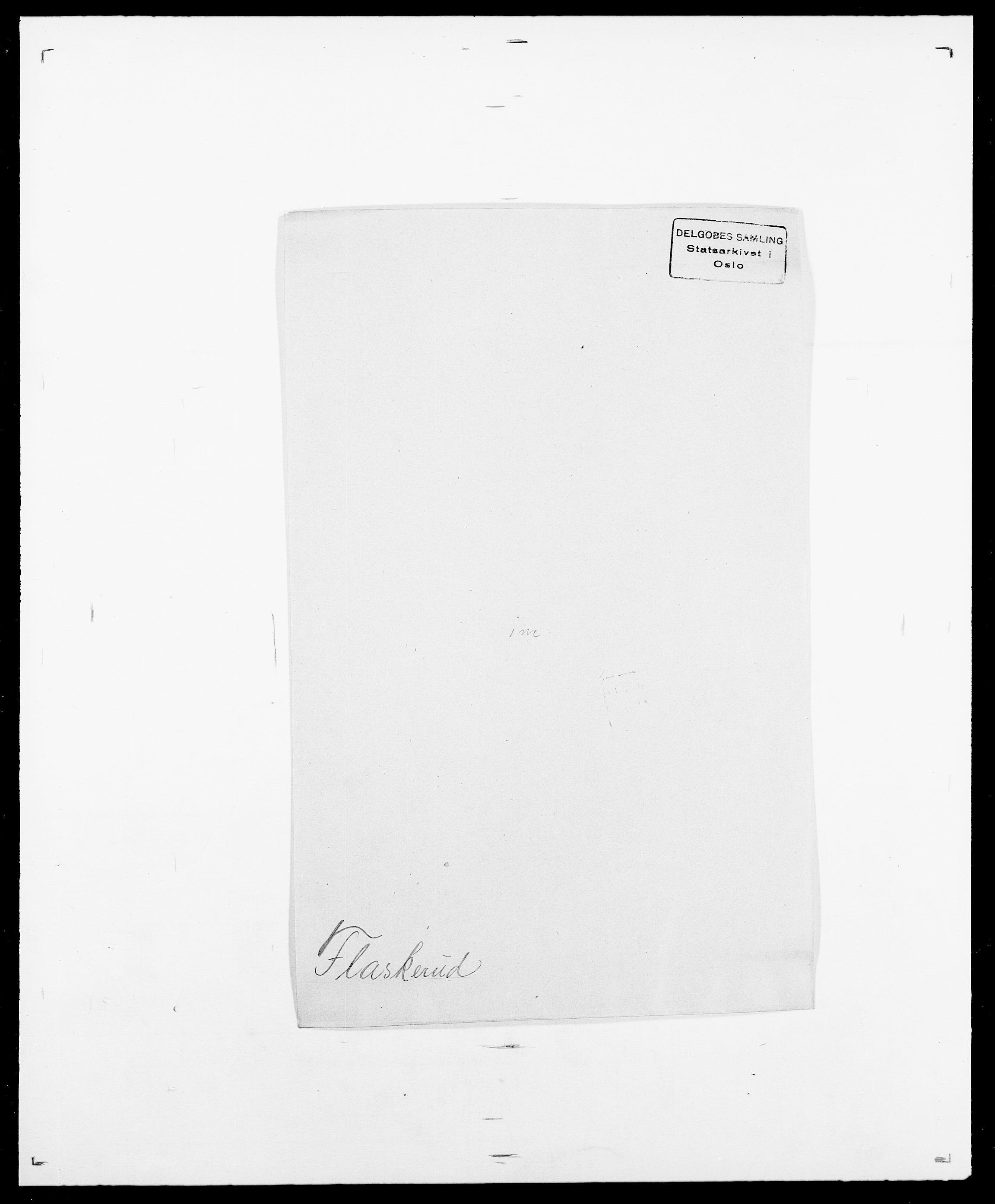 SAO, Delgobe, Charles Antoine - samling, D/Da/L0011: Fahlander - Flood, Flod, s. 577