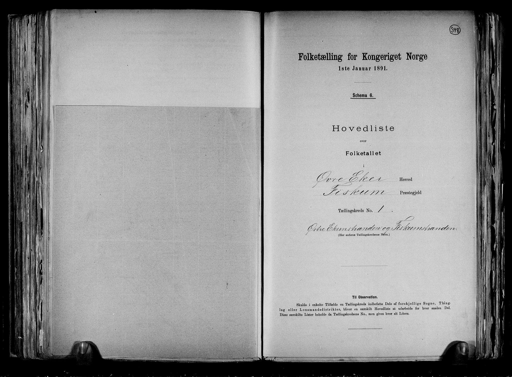 RA, Folketelling 1891 for 0624 Øvre Eiker herred, 1891, s. 51