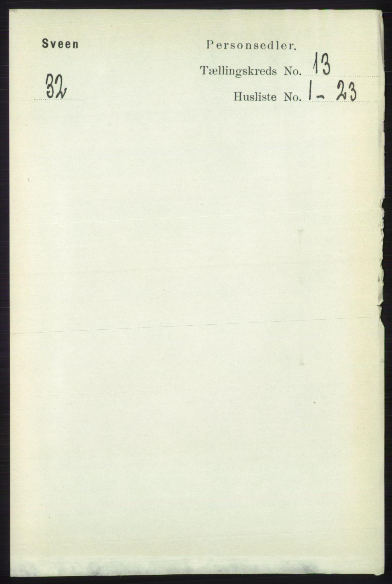 RA, Folketelling 1891 for 1216 Sveio herred, 1891, s. 3667