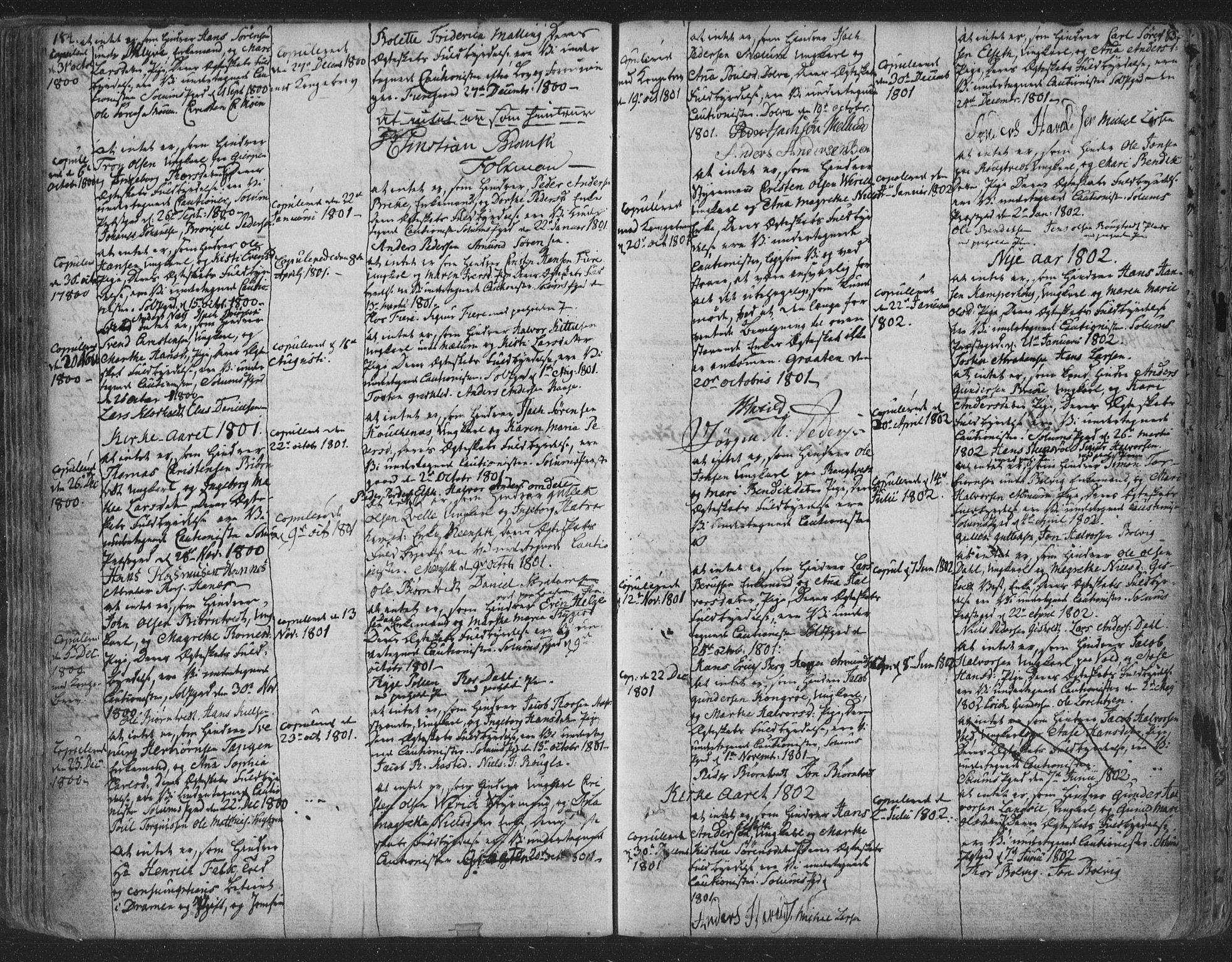SAKO, Solum kirkebøker, F/Fa/L0003: Ministerialbok nr. I 3, 1761-1814, s. 184-185