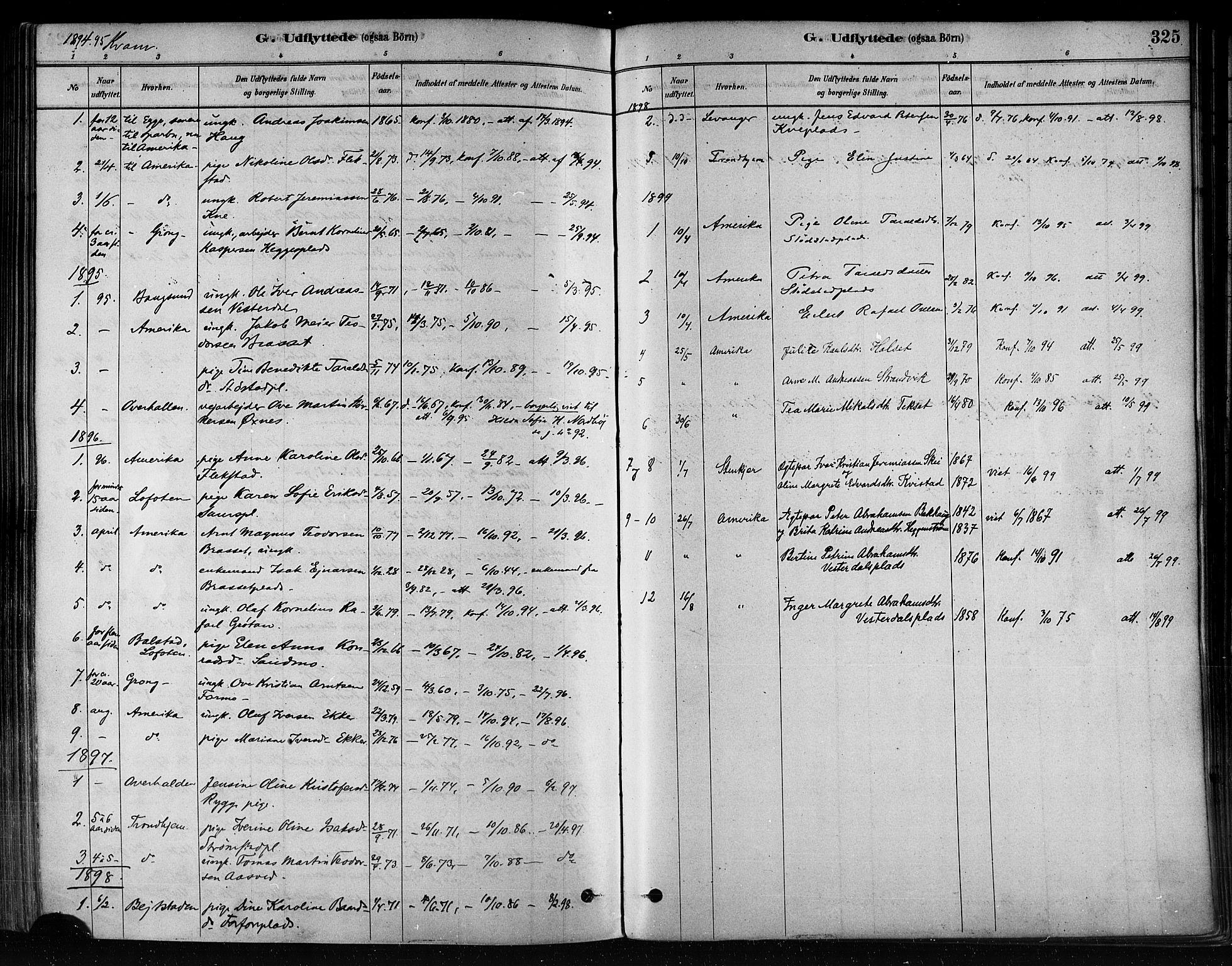 SAT, Ministerialprotokoller, klokkerbøker og fødselsregistre - Nord-Trøndelag, 746/L0449: Ministerialbok nr. 746A07 /2, 1878-1899, s. 325
