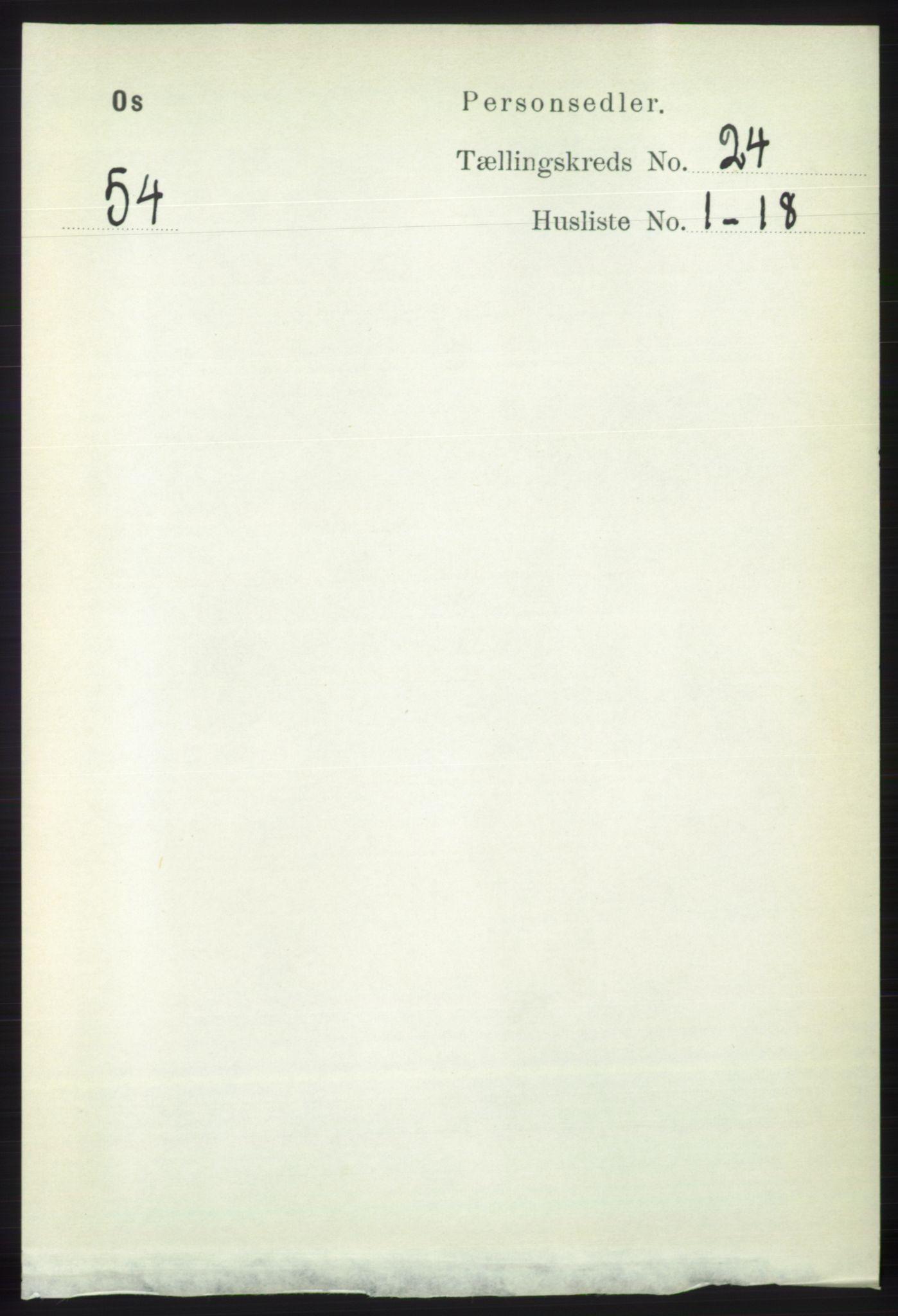 RA, Folketelling 1891 for 1243 Os herred, 1891, s. 5206