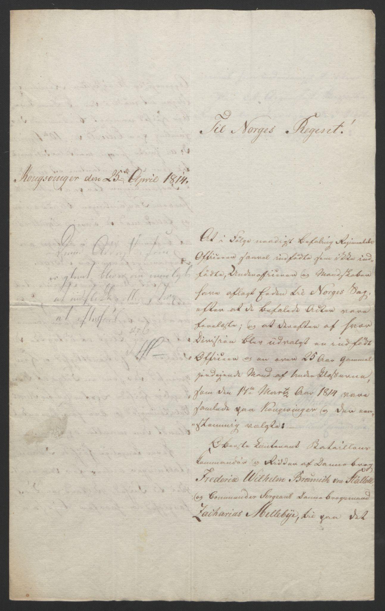 RA, Statsrådssekretariatet, D/Db/L0007: Fullmakter for Eidsvollsrepresentantene i 1814. , 1814, s. 69