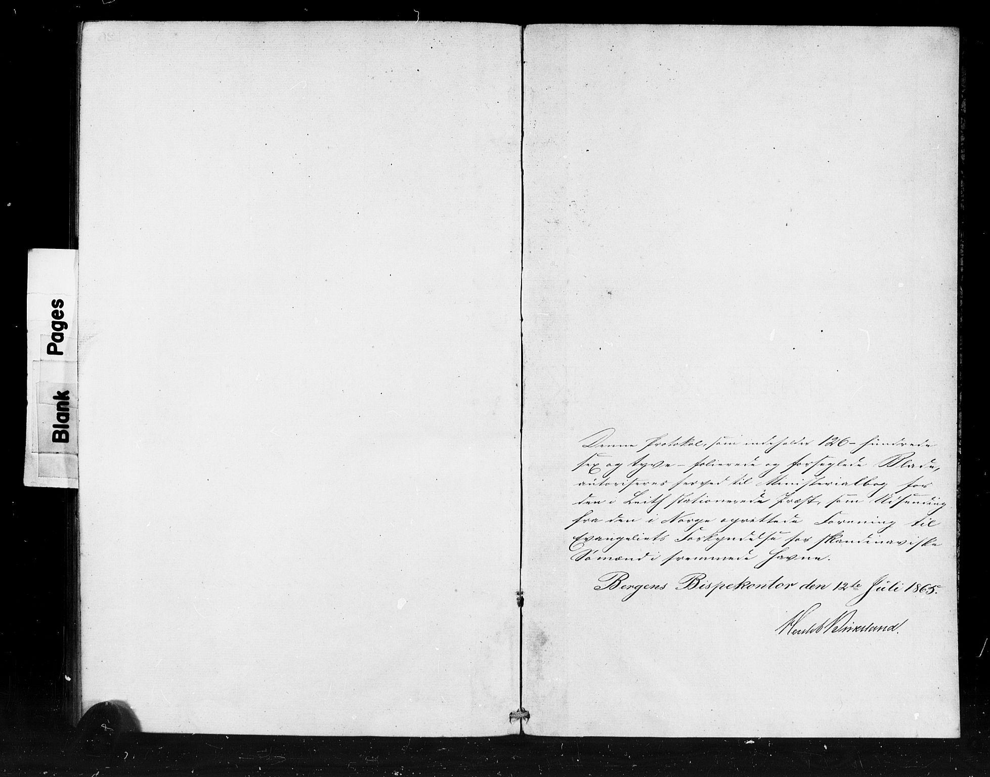 SAB, Den Norske Sjømannsmisjon i utlandet*, Ministerialbok nr. A 1, 1865-1880