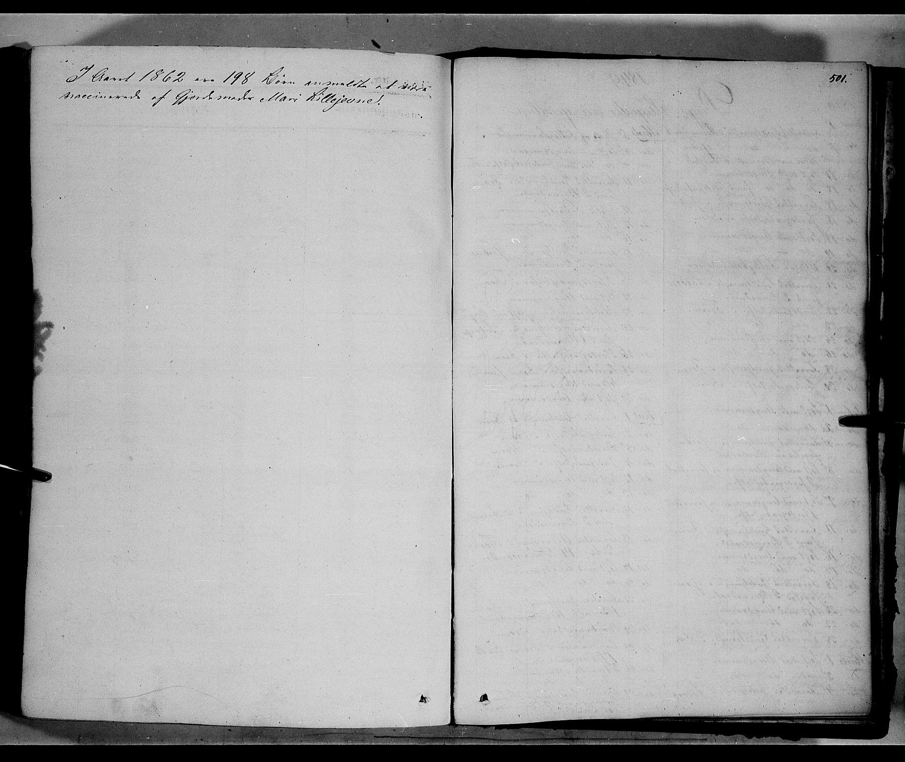 SAH, Sør-Fron prestekontor, H/Ha/Haa/L0001: Ministerialbok nr. 1, 1849-1863, s. 501