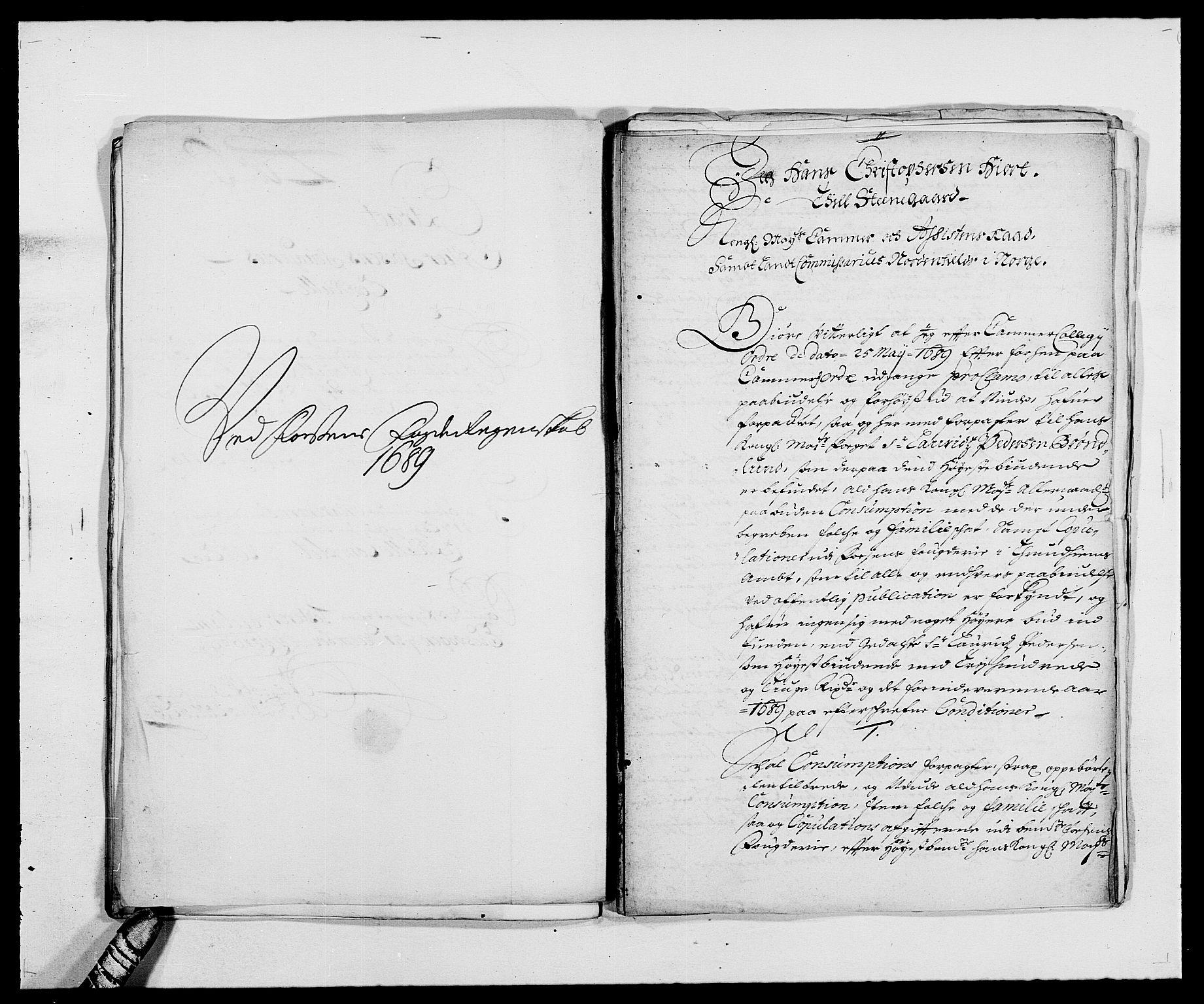 RA, Rentekammeret inntil 1814, Reviderte regnskaper, Fogderegnskap, R57/L3847: Fogderegnskap Fosen, 1689, s. 63