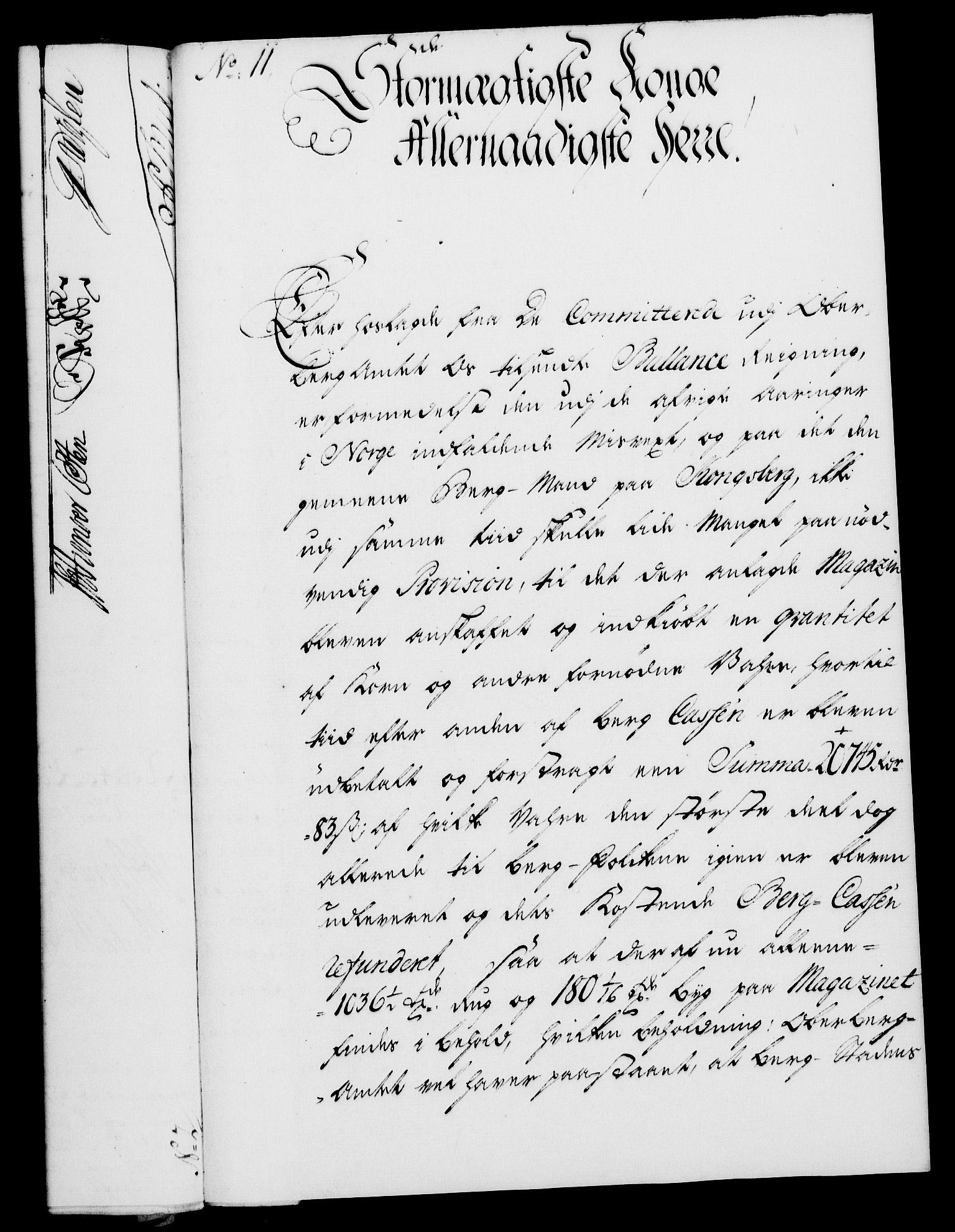 RA, Rentekammeret, Kammerkanselliet, G/Gf/Gfa/L0028: Norsk relasjons- og resolusjonsprotokoll (merket RK 52.28), 1745-1746, s. 83