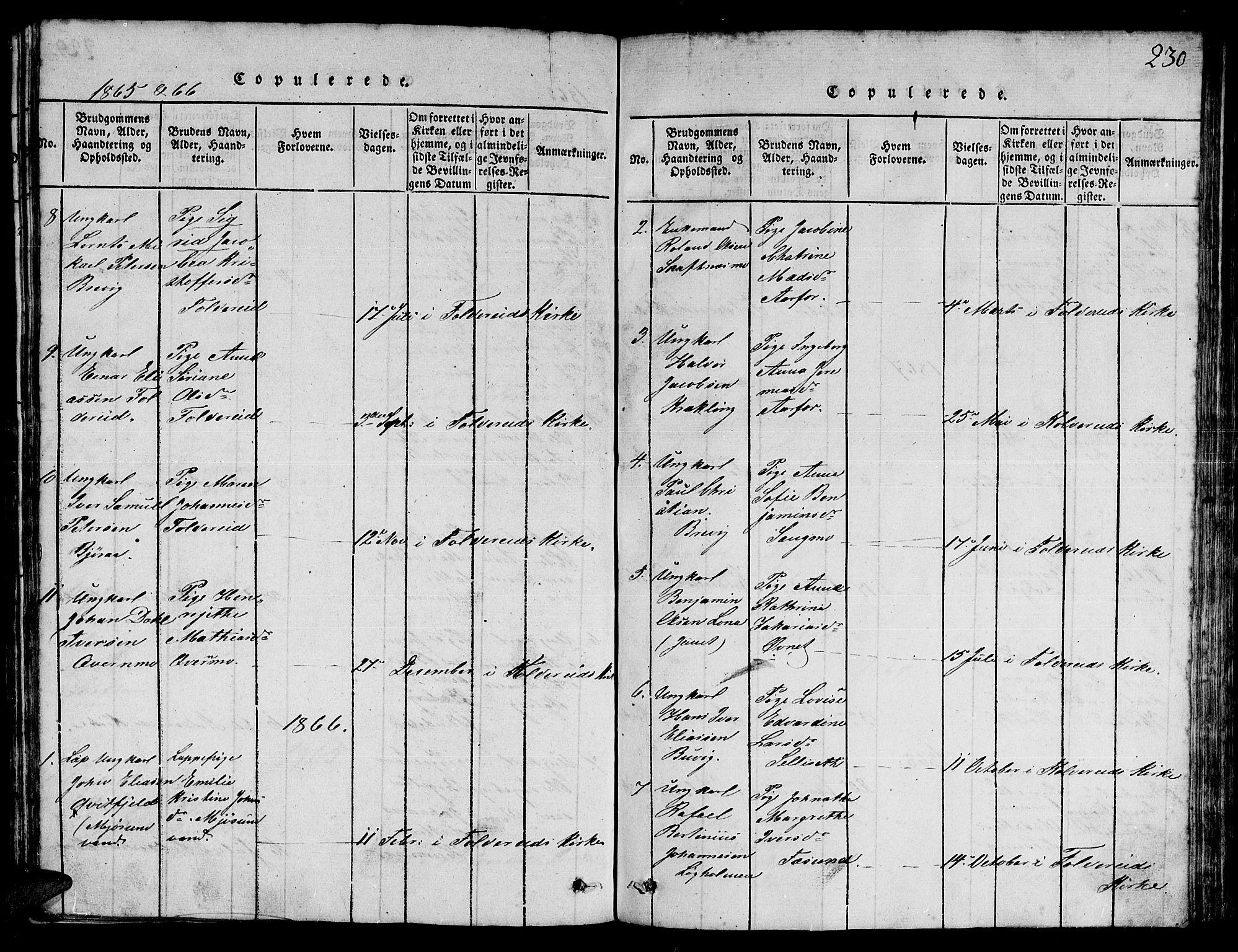 SAT, Ministerialprotokoller, klokkerbøker og fødselsregistre - Nord-Trøndelag, 780/L0648: Klokkerbok nr. 780C01 /3, 1815-1877, s. 230