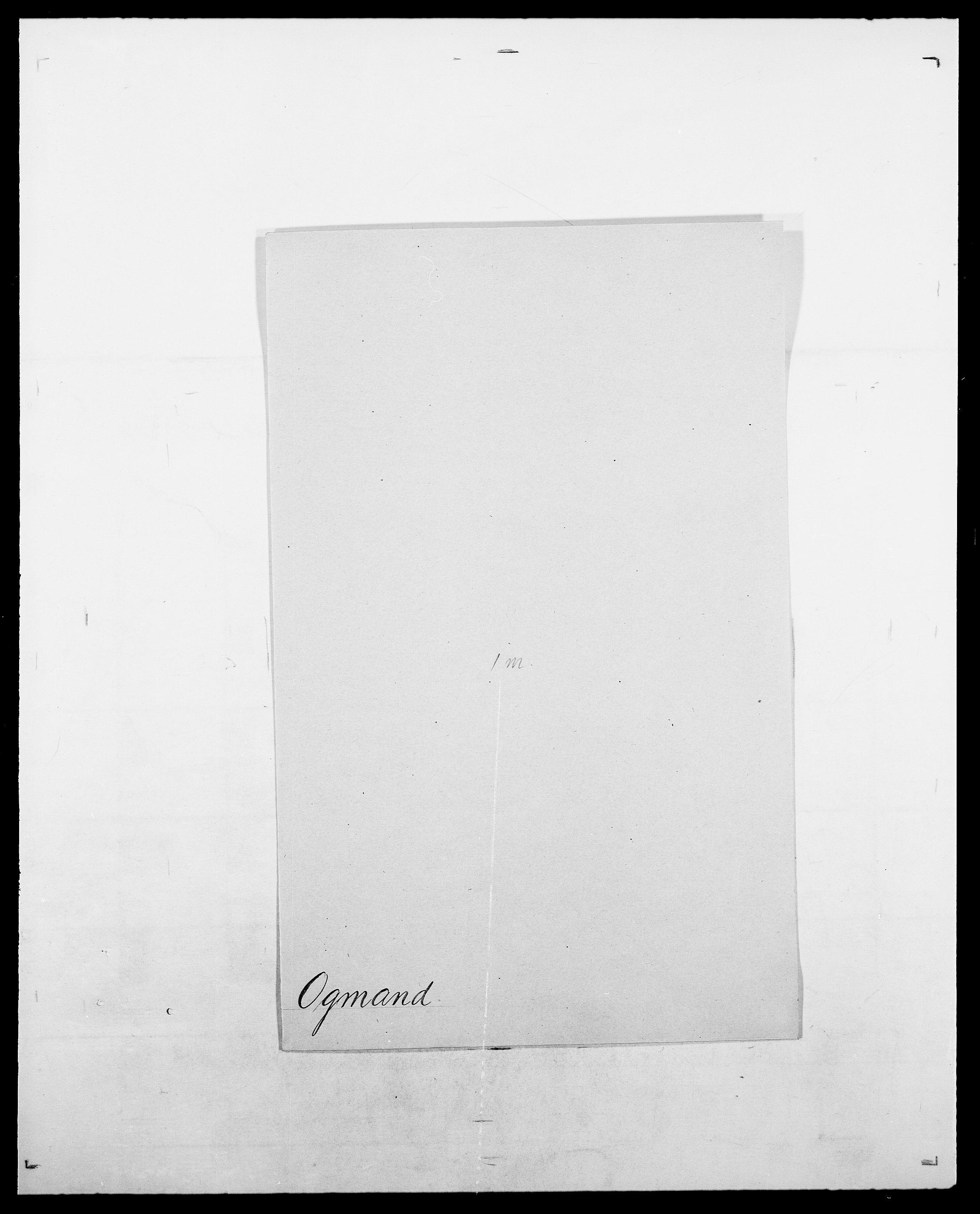 SAO, Delgobe, Charles Antoine - samling, D/Da/L0029: Obel - Oxholm, s. 56