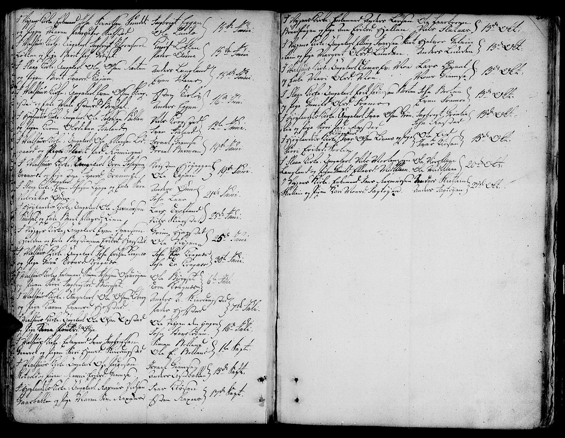 SAT, Ministerialprotokoller, klokkerbøker og fødselsregistre - Sør-Trøndelag, 691/L1061: Ministerialbok nr. 691A02 /1, 1768-1815, s. 204