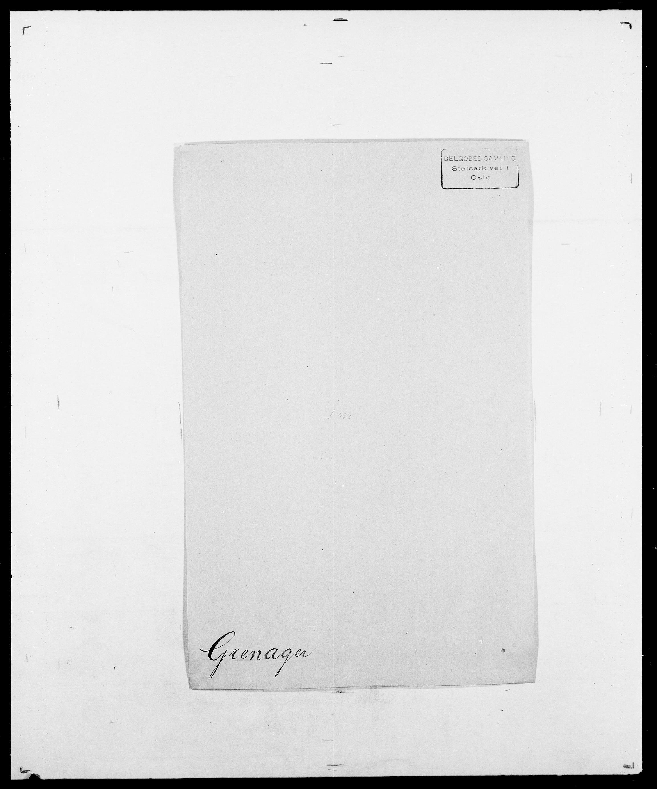 SAO, Delgobe, Charles Antoine - samling, D/Da/L0014: Giebdhausen - Grip, s. 606