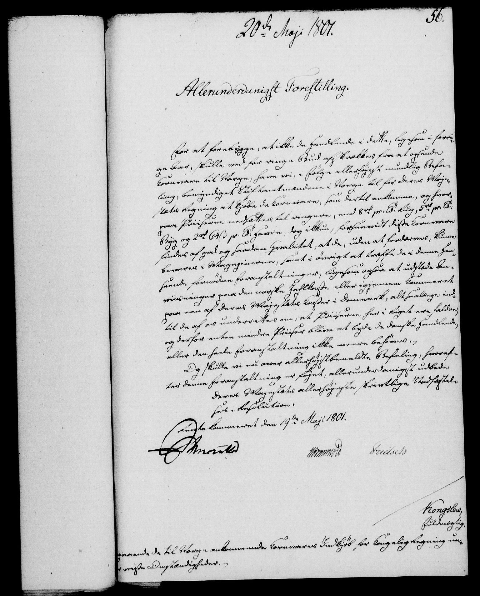 RA, Rentekammeret, Kammerkanselliet, G/Gf/Gfa/L0083: Norsk relasjons- og resolusjonsprotokoll (merket RK 52.83), 1801, s. 354