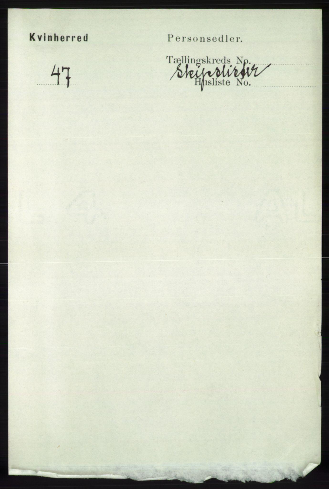 RA, Folketelling 1891 for 1224 Kvinnherad herred, 1891, s. 5803