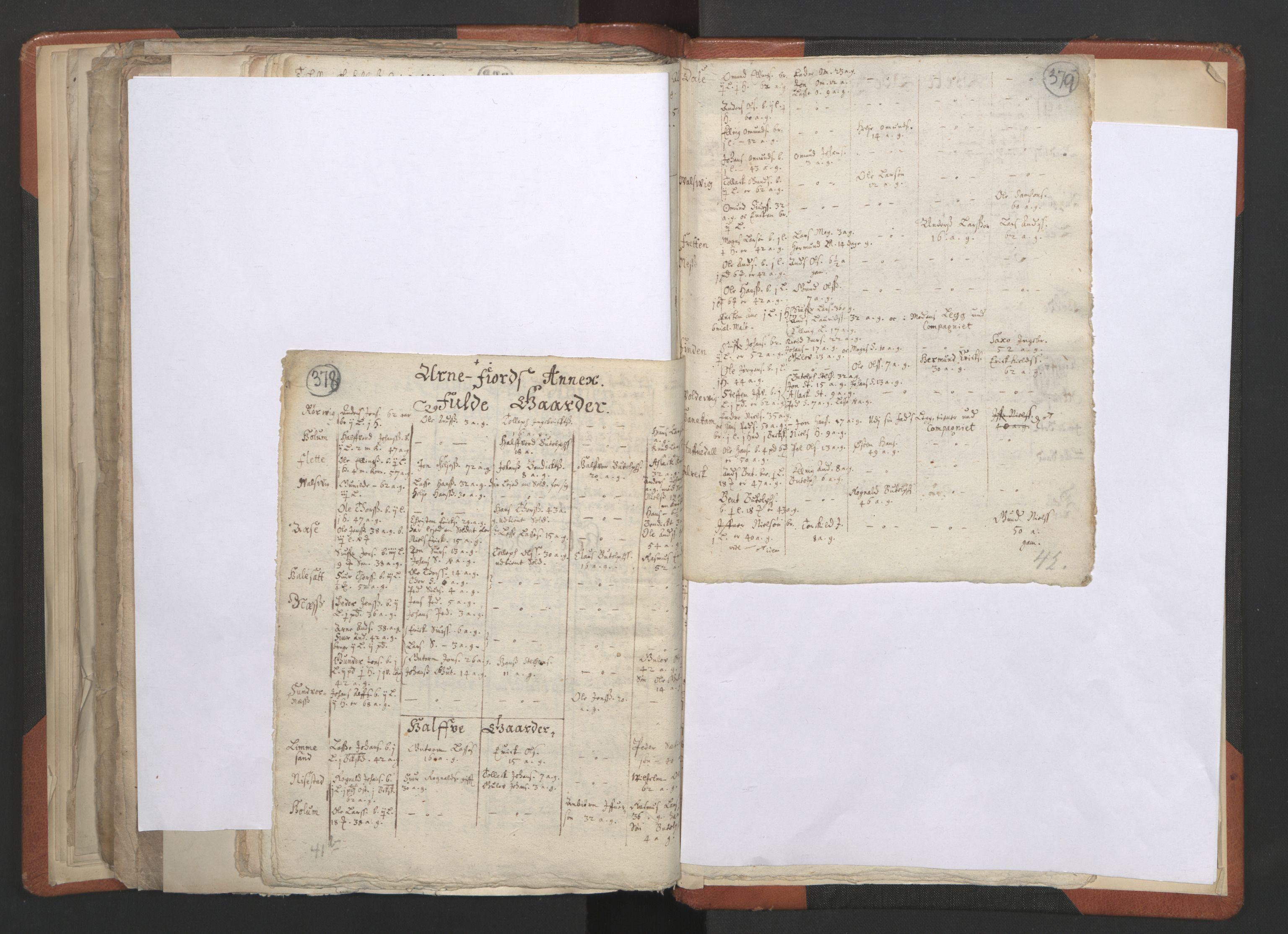 RA, Sogneprestenes manntall 1664-1666, nr. 23: Sogn prosti, 1664-1666, s. 378-379