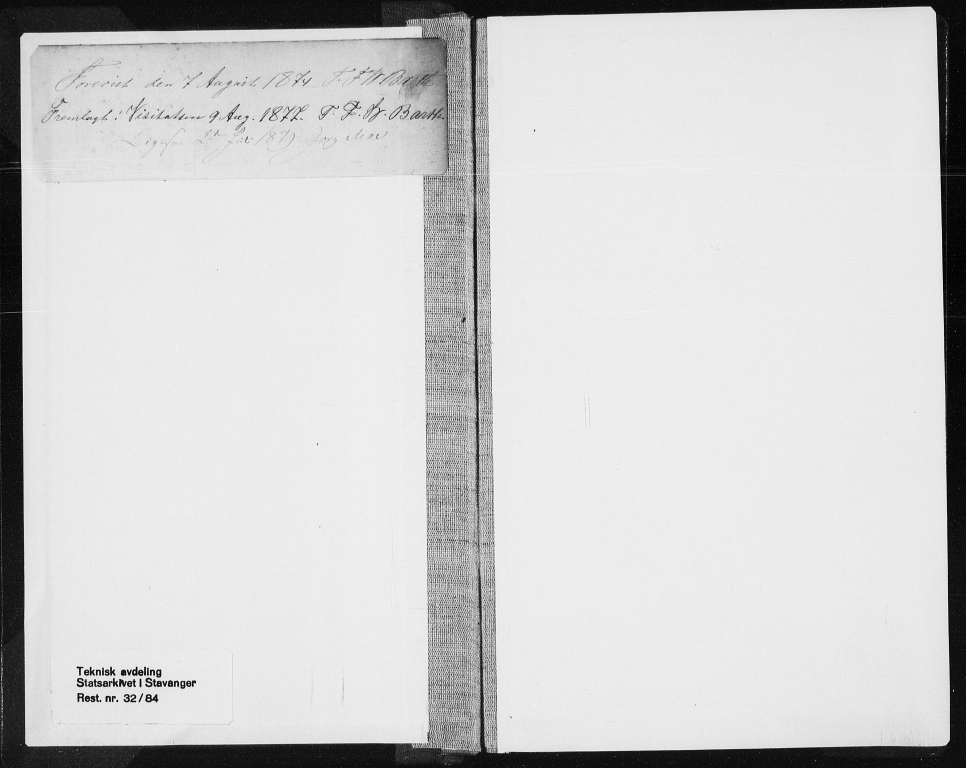 SAST, Tysvær sokneprestkontor, H/Ha/Haa/L0005: Ministerialbok nr. A 5, 1865-1878