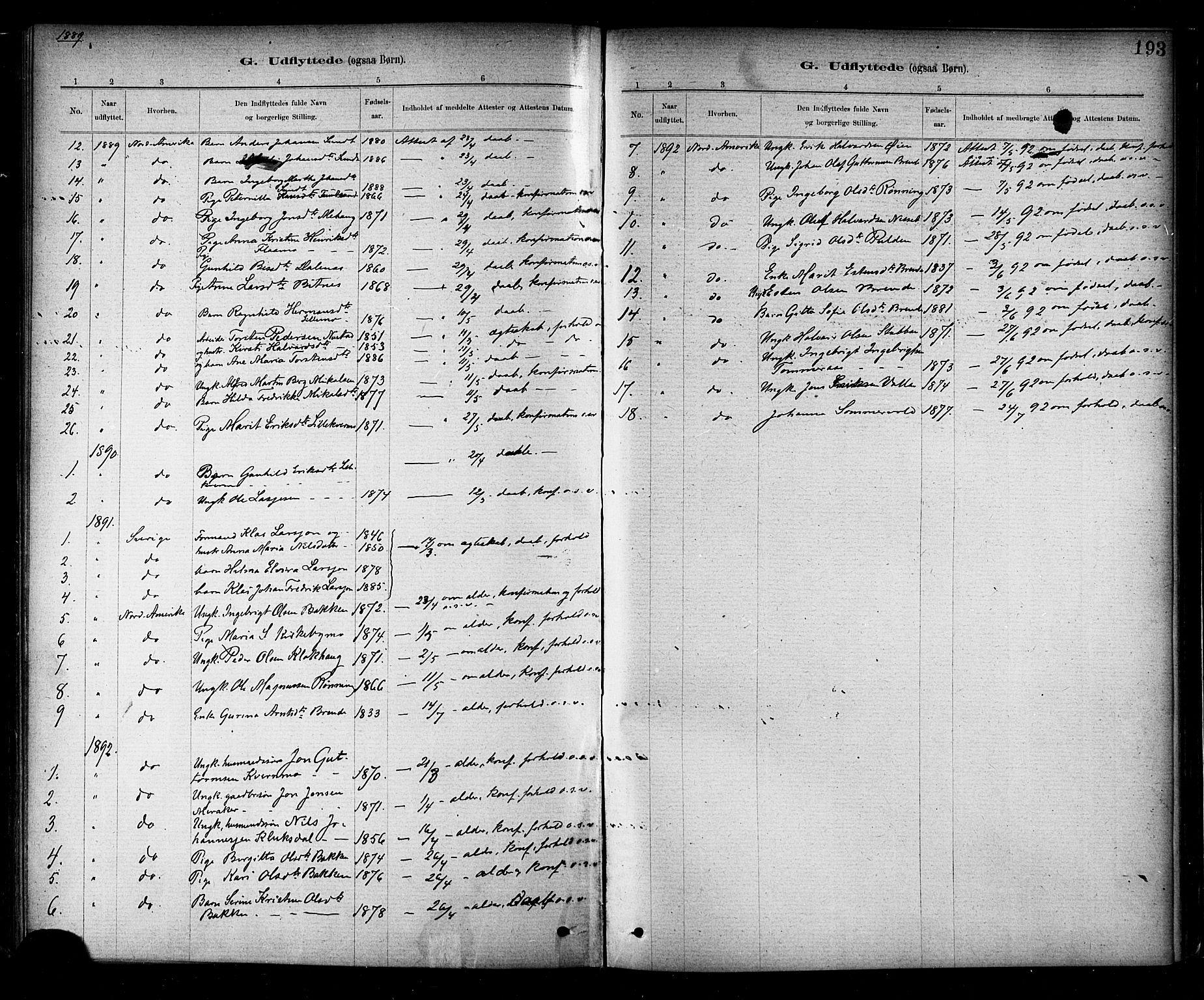 SAT, Ministerialprotokoller, klokkerbøker og fødselsregistre - Nord-Trøndelag, 706/L0047: Ministerialbok nr. 706A03, 1878-1892, s. 193