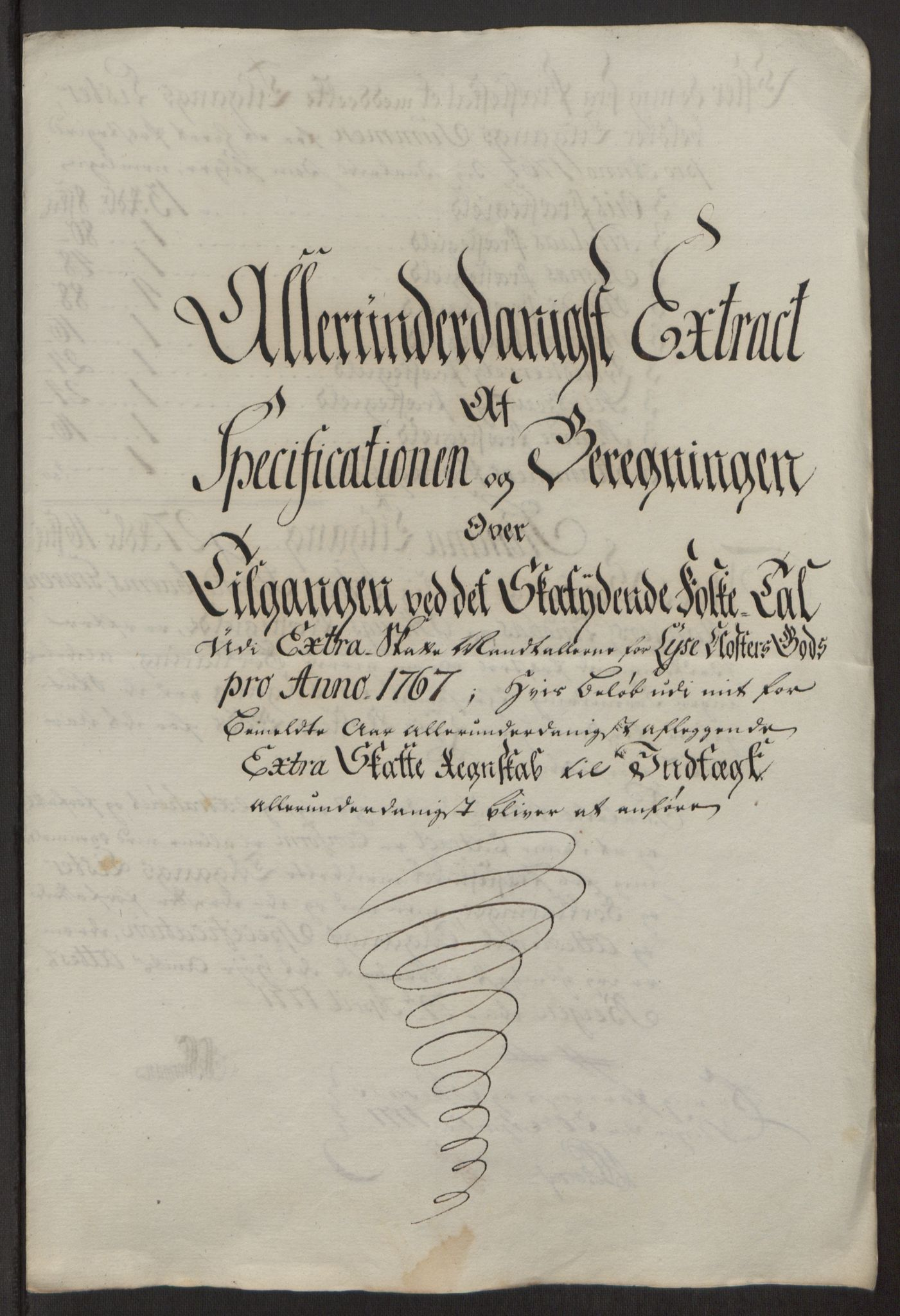 RA, Rentekammeret inntil 1814, Reviderte regnskaper, Fogderegnskap, R50/L3180: Ekstraskatten Lyse kloster, 1762-1783, s. 178