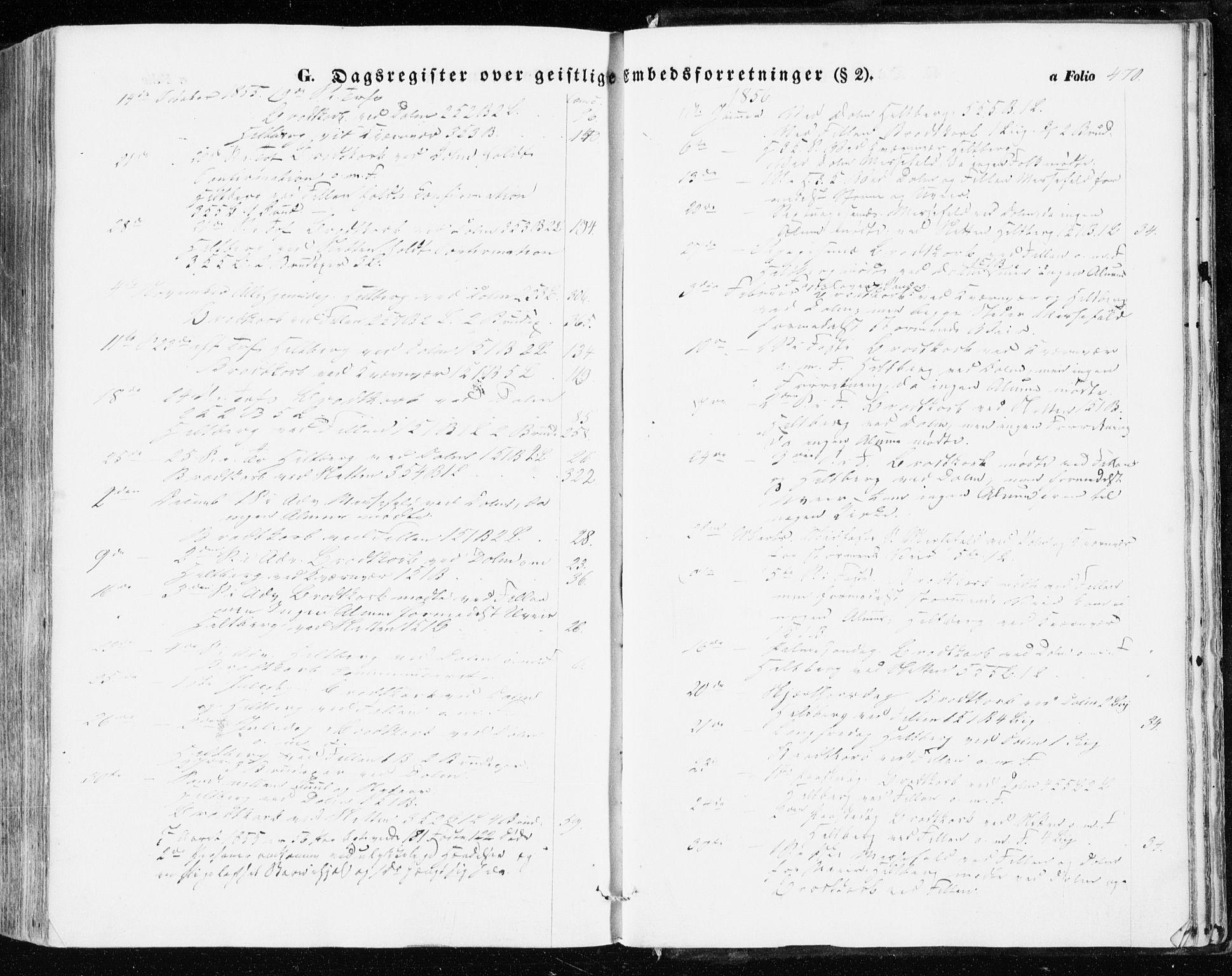 SAT, Ministerialprotokoller, klokkerbøker og fødselsregistre - Sør-Trøndelag, 634/L0530: Ministerialbok nr. 634A06, 1852-1860, s. 470