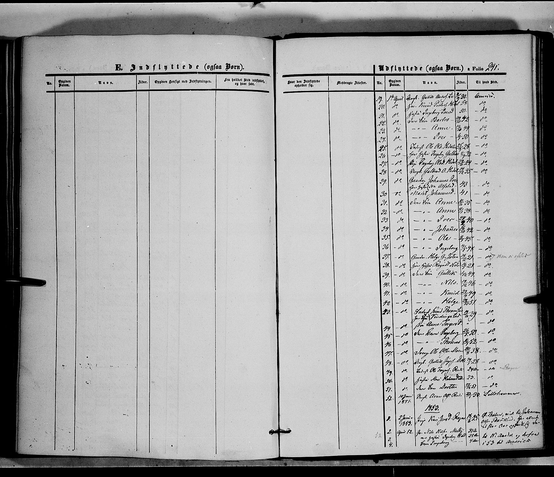 SAH, Øystre Slidre prestekontor, Ministerialbok nr. 1, 1849-1874, s. 241