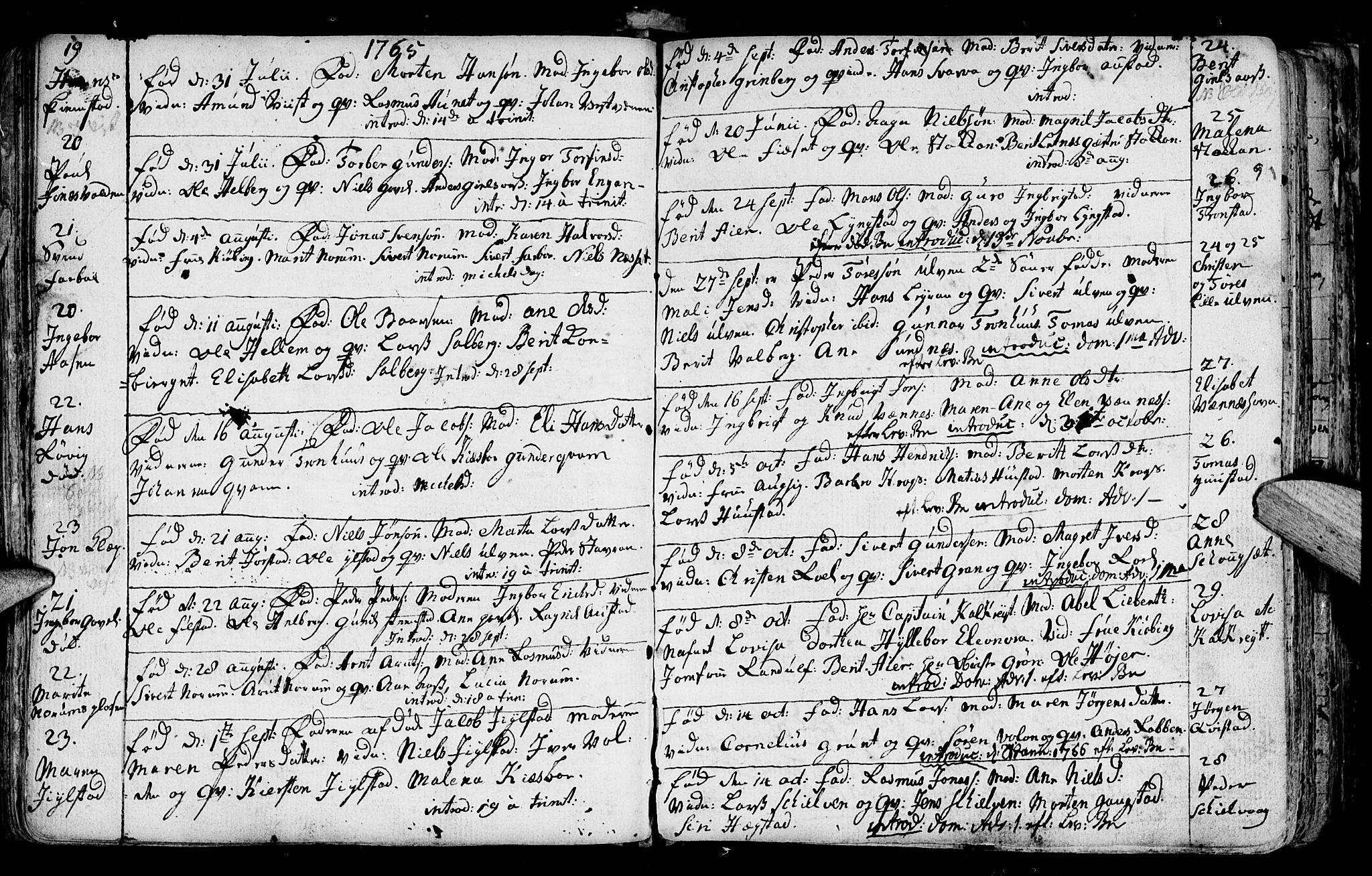 SAT, Ministerialprotokoller, klokkerbøker og fødselsregistre - Nord-Trøndelag, 730/L0273: Ministerialbok nr. 730A02, 1762-1802, s. 91