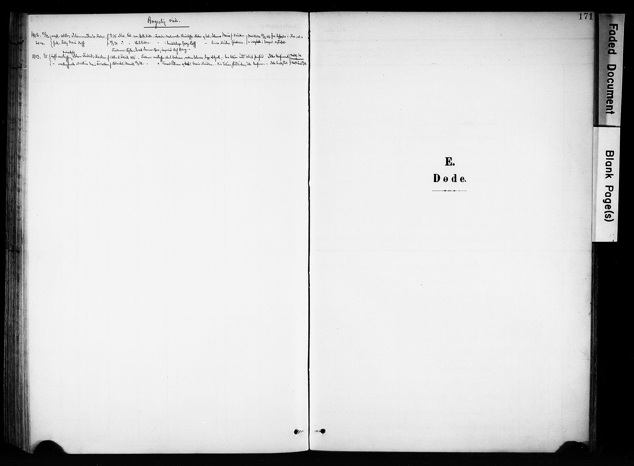 SAH, Brandbu prestekontor, Ministerialbok nr. 1, 1900-1912, s. 171