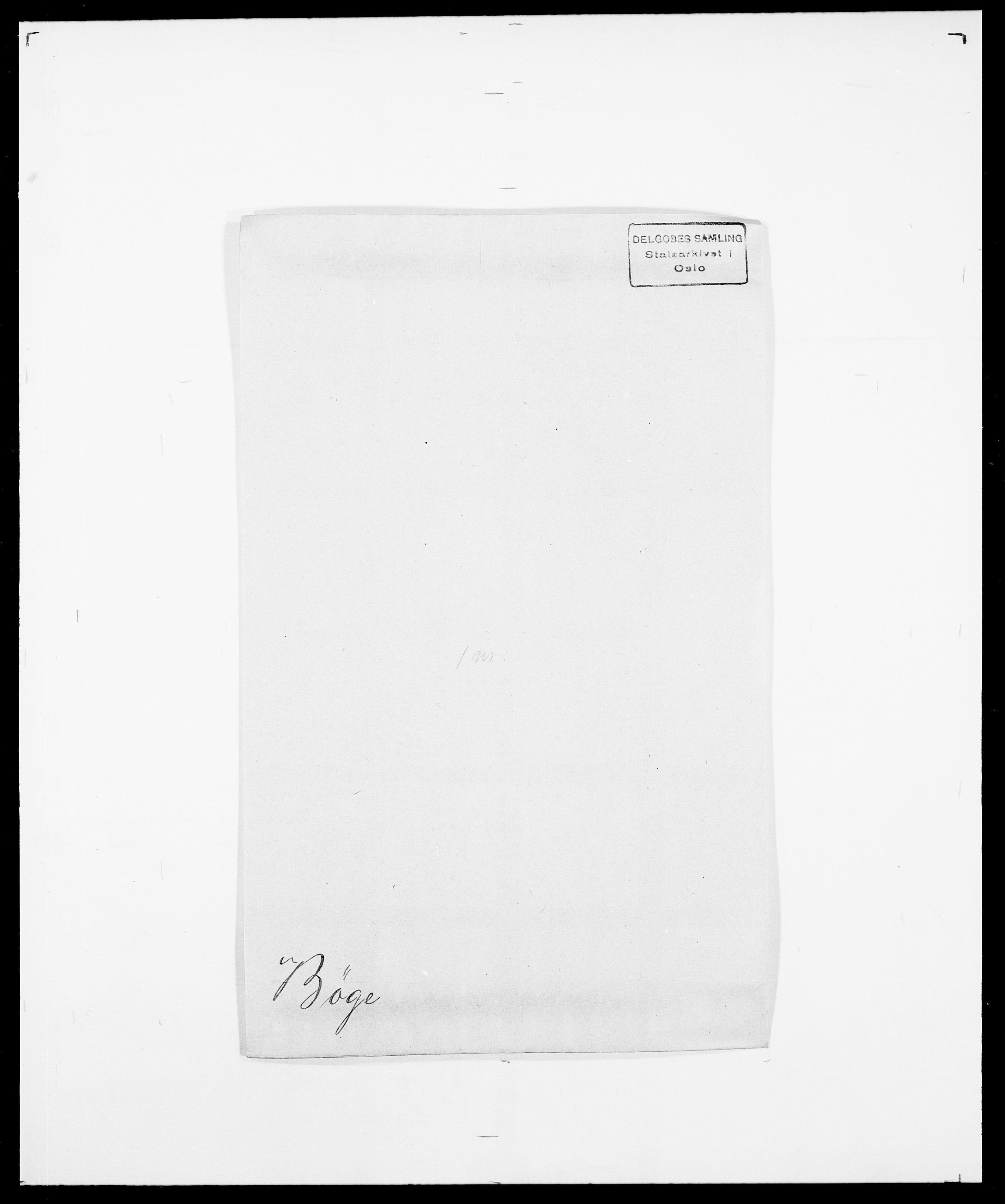 SAO, Delgobe, Charles Antoine - samling, D/Da/L0007: Buaas - Caphengst, s. 696