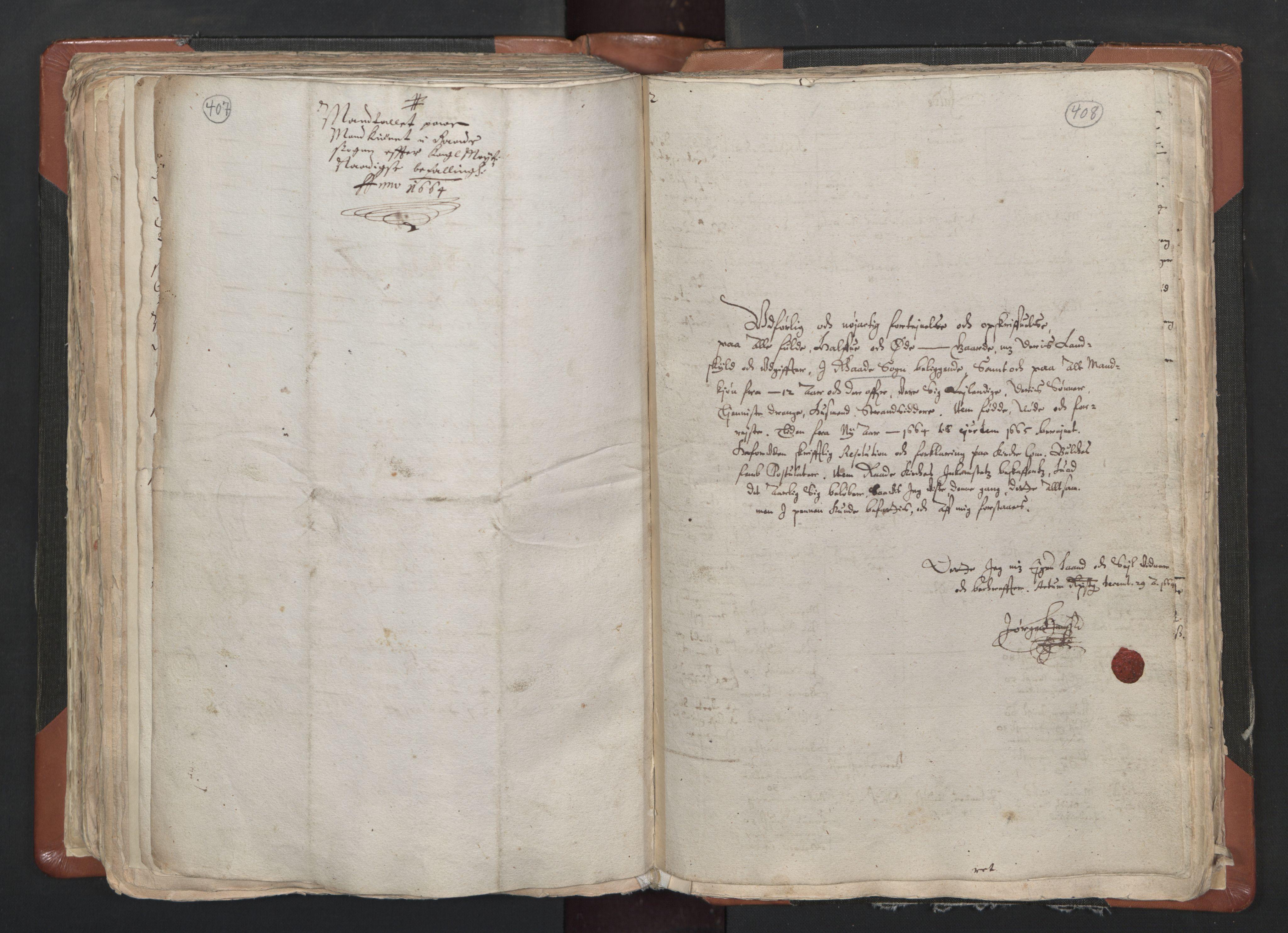 RA, Sogneprestenes manntall 1664-1666, nr. 1: Nedre Borgesyssel prosti, 1664-1666, s. 407-408