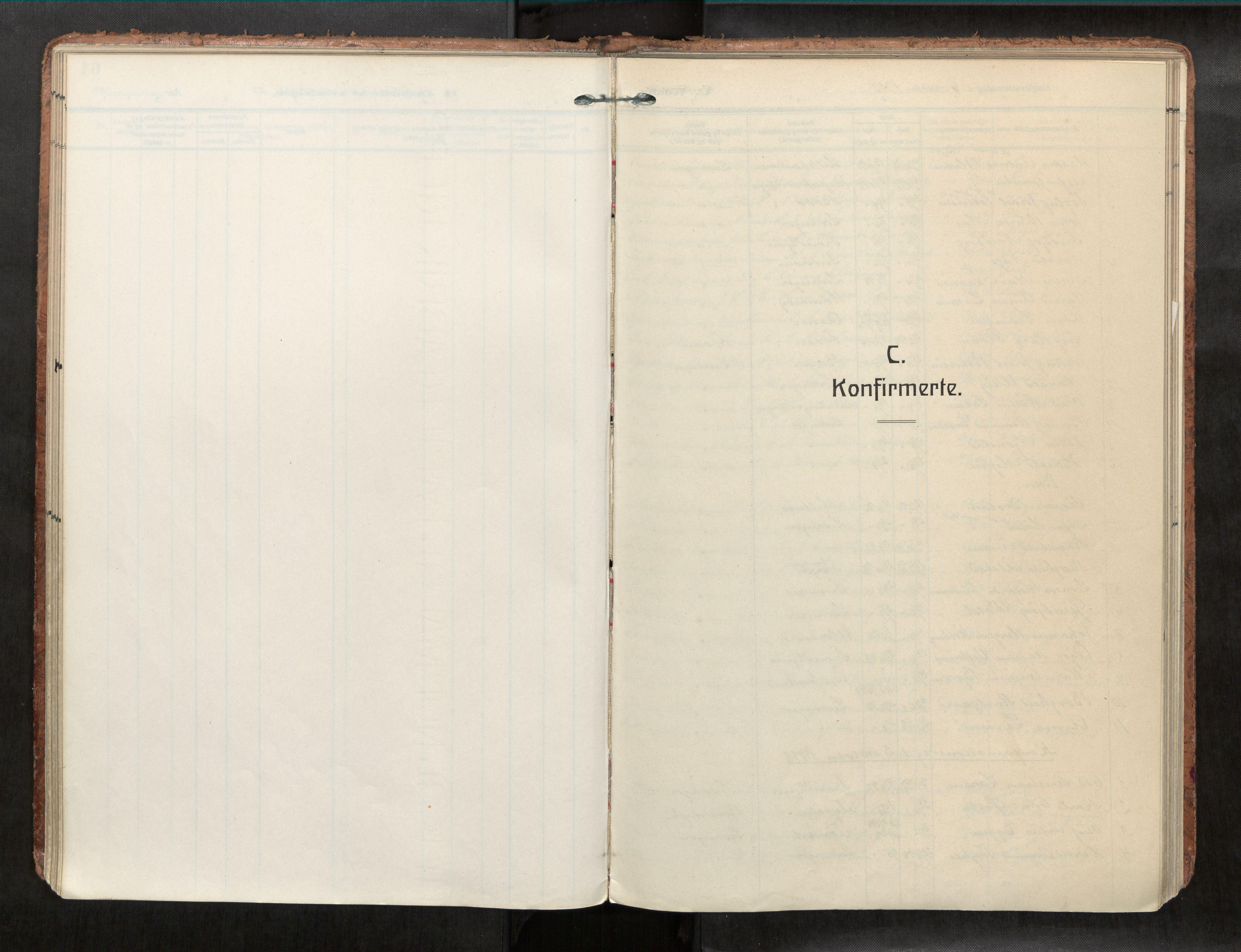 SAT, Levanger sokneprestkontor*, Ministerialbok nr. 1, 1912-1932