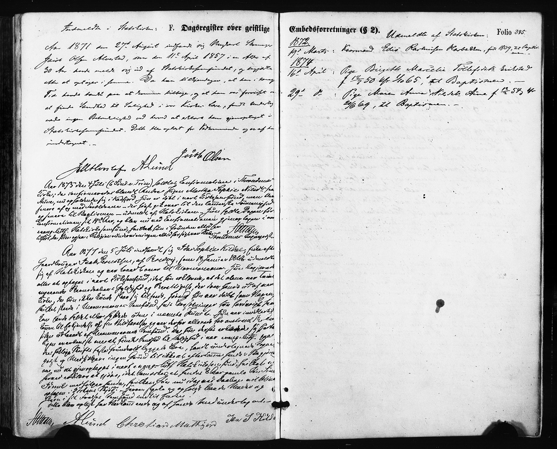 SATØ, Trondenes sokneprestkontor, H/Ha/L0013kirke: Ministerialbok nr. 13, 1870-1878, s. 345