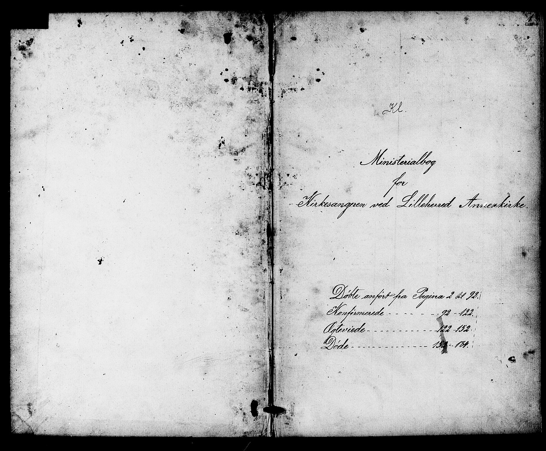 SAKO, Heddal kirkebøker, G/Gb/L0001: Klokkerbok nr. II 1, 1866-1887, s. 0-1