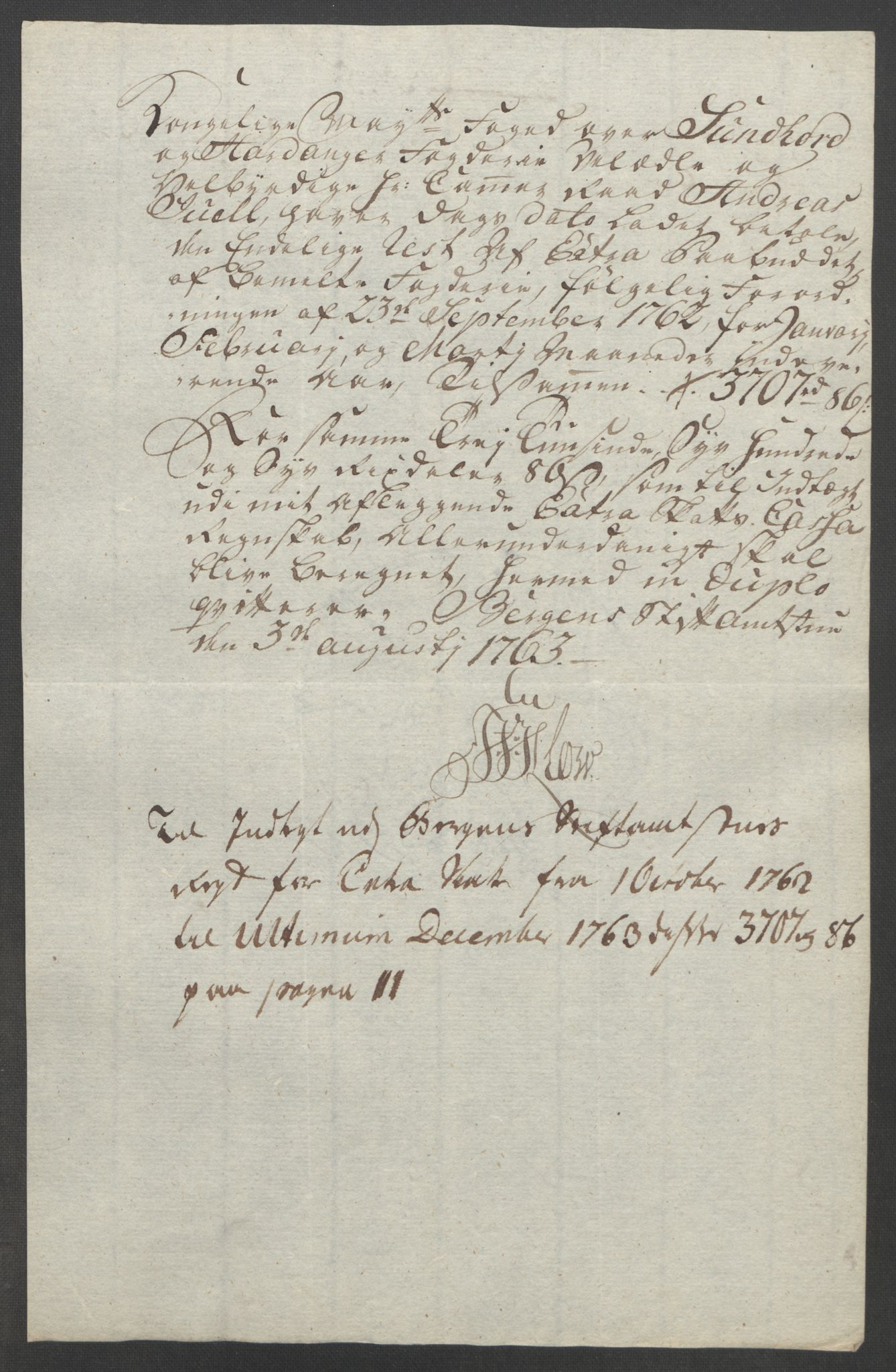 RA, Rentekammeret inntil 1814, Reviderte regnskaper, Fogderegnskap, R48/L3136: Ekstraskatten Sunnhordland og Hardanger, 1762-1772, s. 35