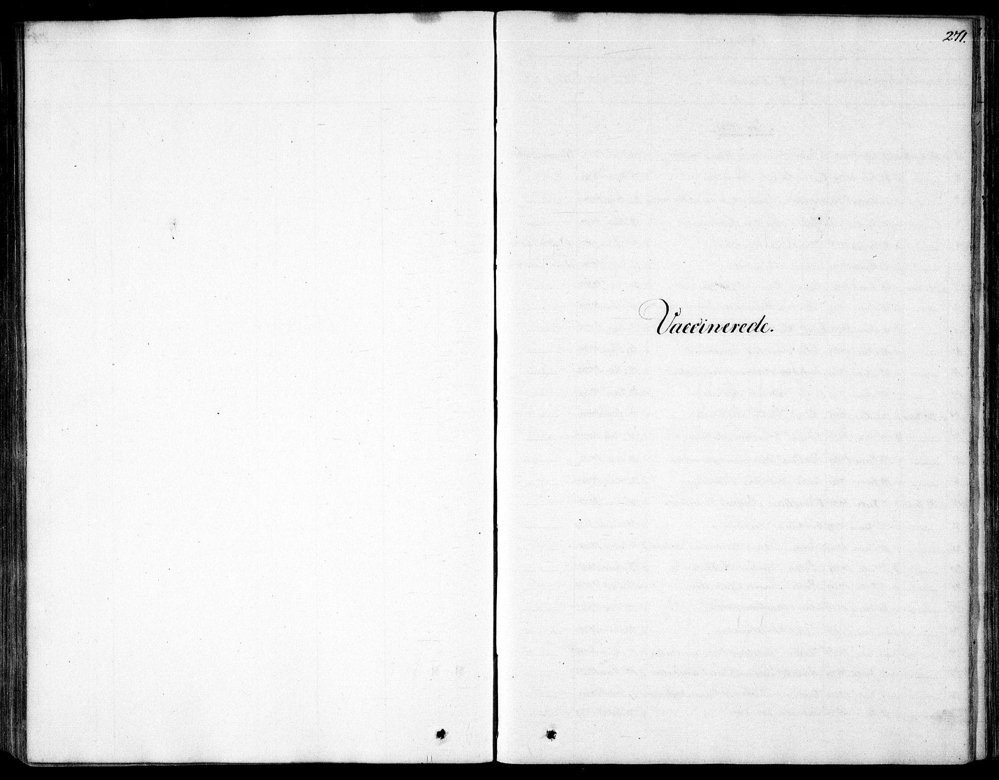 SAO, Garnisonsmenigheten Kirkebøker, F/Fa/L0007: Ministerialbok nr. 7, 1828-1881, s. 271