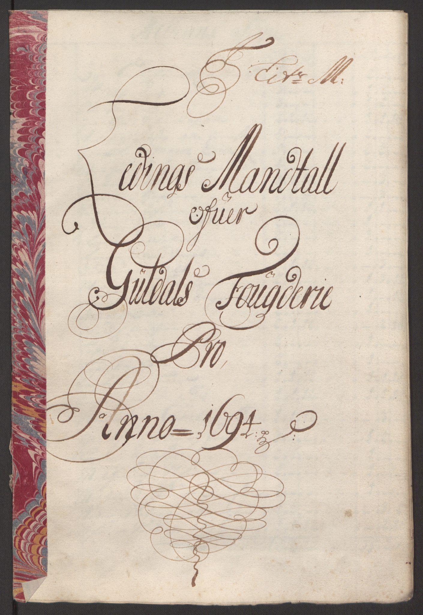 RA, Rentekammeret inntil 1814, Reviderte regnskaper, Fogderegnskap, R60/L3944: Fogderegnskap Orkdal og Gauldal, 1694, s. 396